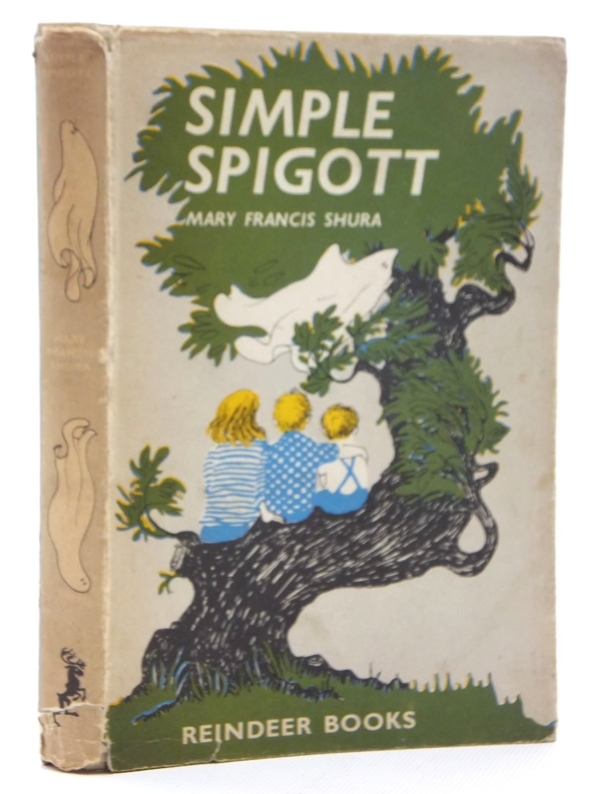 Photo of SIMPLE SPIGOTT written by Shura, Mary Francis illustrated by Garland, Sarah published by Hamish Hamilton (STOCK CODE: 2123861)  for sale by Stella & Rose's Books