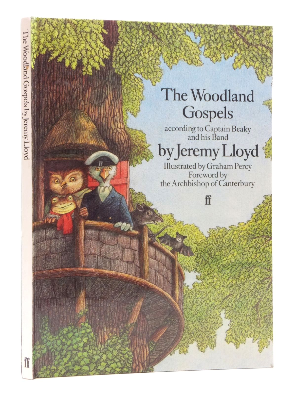 Photo of THE WOODLAND GOSPELS written by Lloyd, Jeremy illustrated by Percy, Graham published by Faber & Faber (STOCK CODE: 2123888)  for sale by Stella & Rose's Books