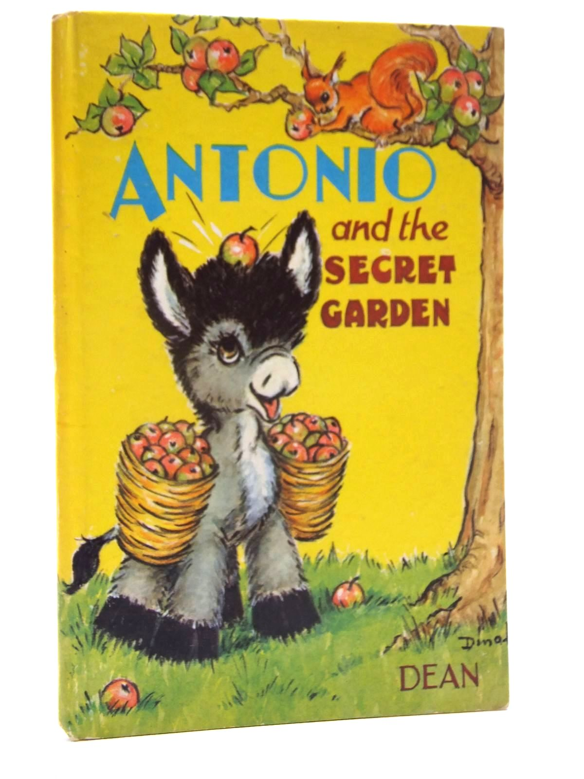 Photo of ANTONIO AND THE SECRET GARDEN written by Dinah,  illustrated by Dinah,  published by Dean & Son Ltd. (STOCK CODE: 2123993)  for sale by Stella & Rose's Books