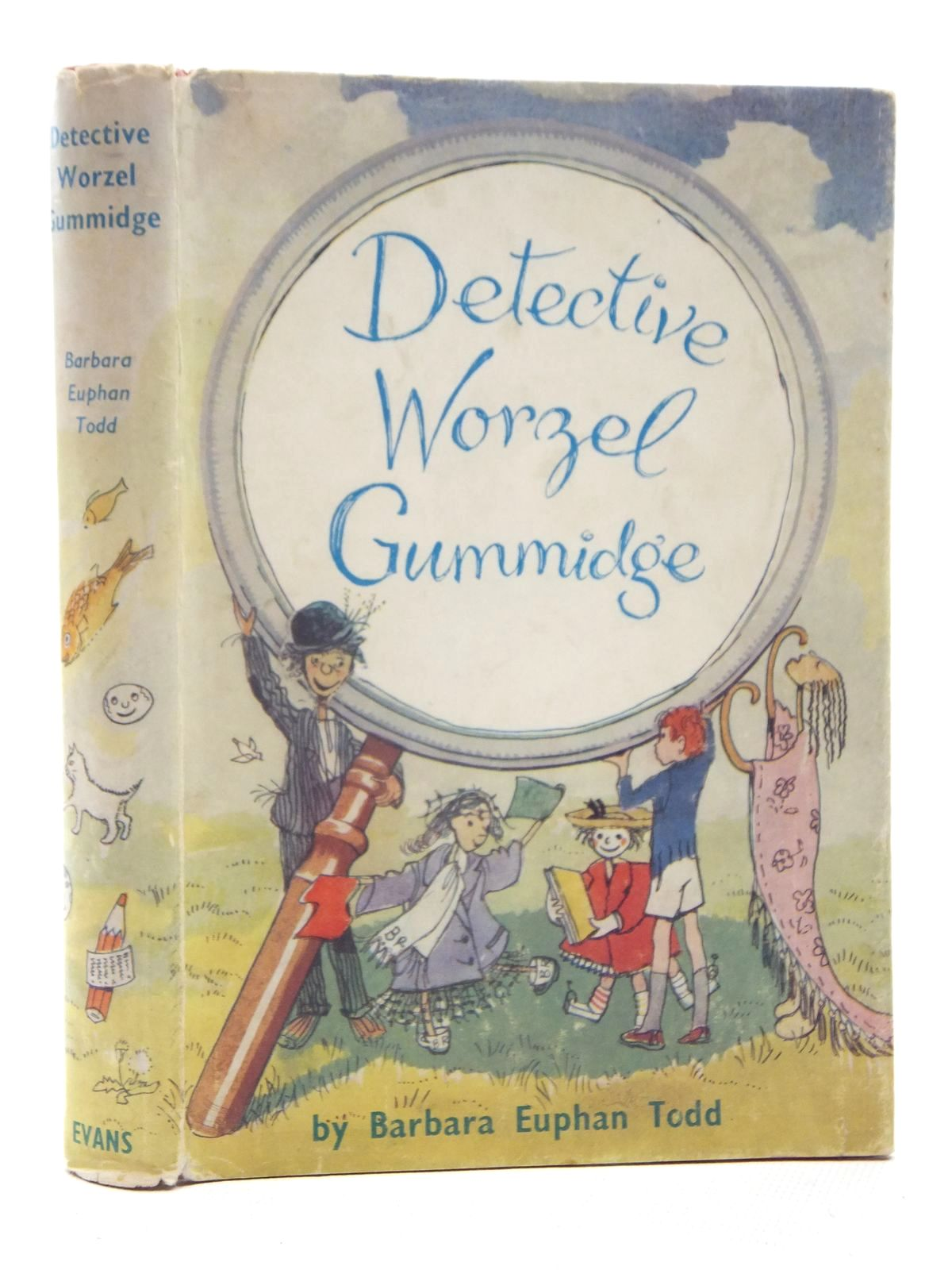 Photo of DETECTIVE WORZEL GUMMIDGE written by Todd, Barbara Euphan illustrated by Crockford, Jill published by Evans Brothers Limited (STOCK CODE: 2123998)  for sale by Stella & Rose's Books