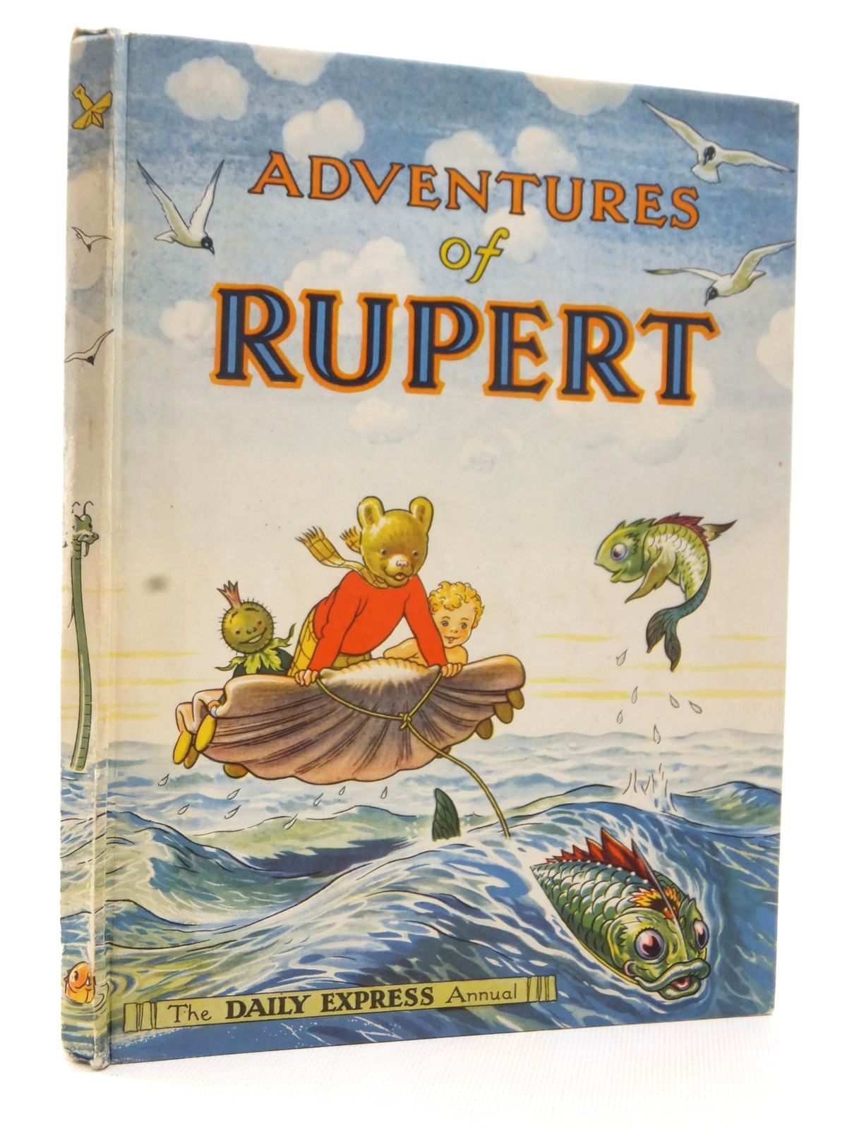 Photo of RUPERT ANNUAL 1950 - ADVENTURES OF RUPERT written by Bestall, Alfred illustrated by Bestall, Alfred published by Daily Express (STOCK CODE: 2124045)  for sale by Stella & Rose's Books