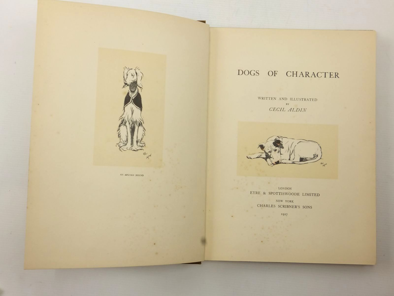 Photo of DOGS OF CHARACTER written by Aldin, Cecil illustrated by Aldin, Cecil published by Eyre & Spottiswoode (STOCK CODE: 2124051)  for sale by Stella & Rose's Books