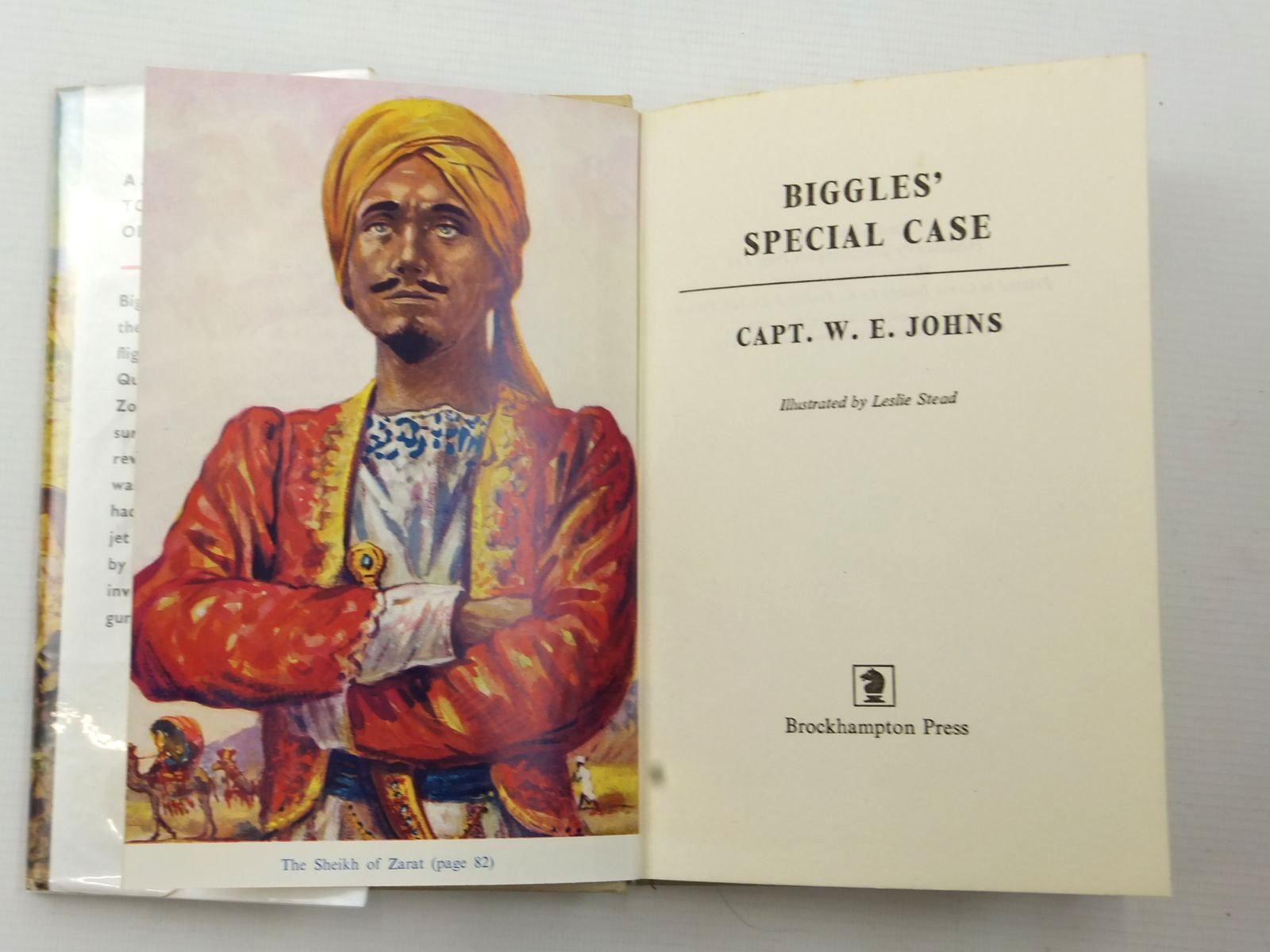 Photo of BIGGLES' SPECIAL CASE written by Johns, W.E. illustrated by Stead, Leslie published by Brockhampton Press (STOCK CODE: 2124056)  for sale by Stella & Rose's Books