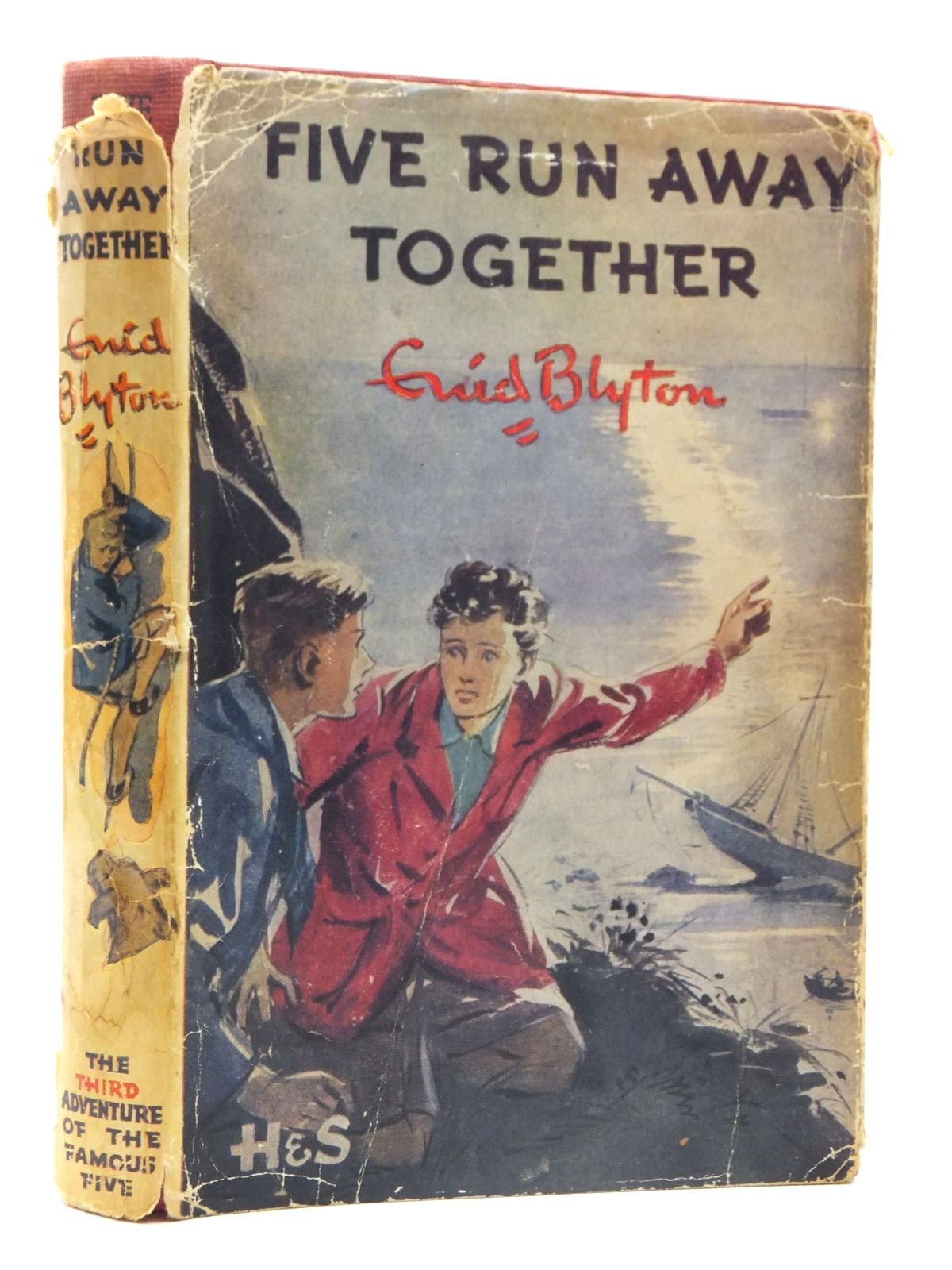 Photo of FIVE RUN AWAY TOGETHER written by Blyton, Enid illustrated by Soper, Eileen published by Hodder & Stoughton (STOCK CODE: 2124093)  for sale by Stella & Rose's Books