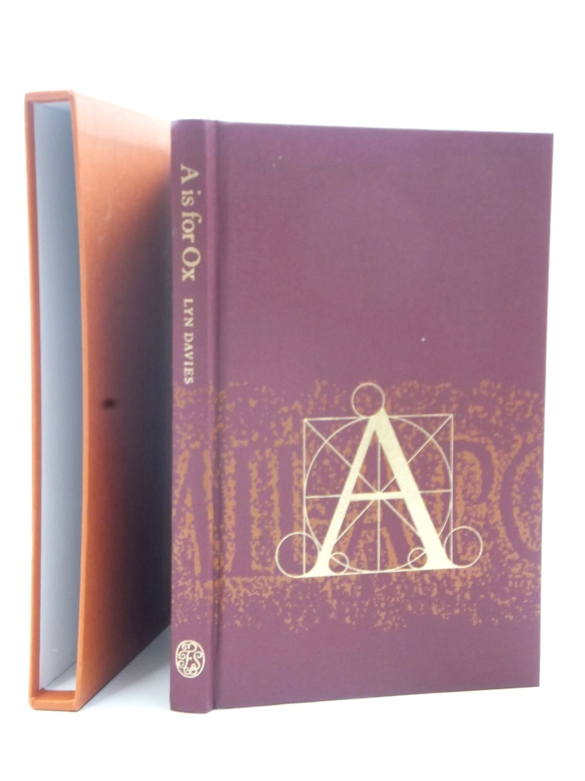 Photo of A IS FOR OX written by Davies, Lyn published by Folio Society (STOCK CODE: 2124123)  for sale by Stella & Rose's Books
