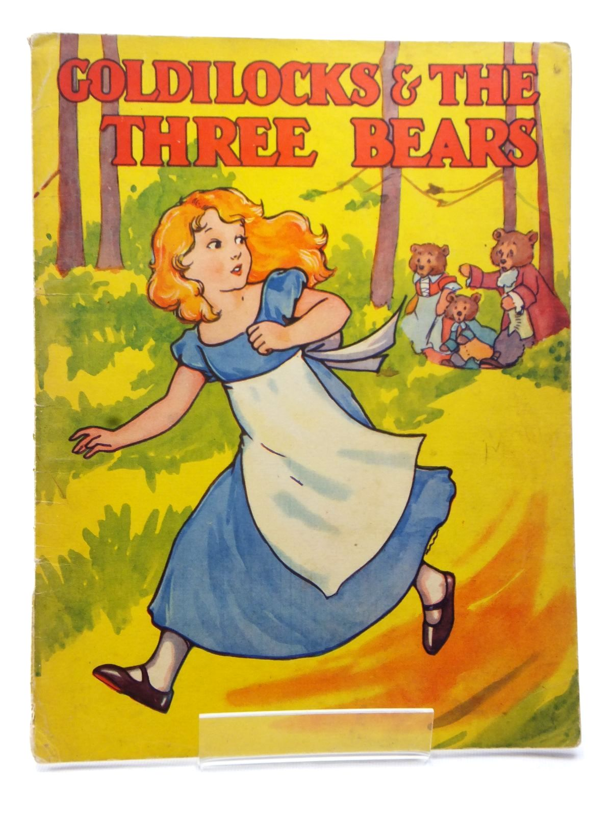 Photo of GOLDILOCKS & THE THREE BEARS illustrated by White, Doris published by Waddy Productions (STOCK CODE: 2124130)  for sale by Stella & Rose's Books
