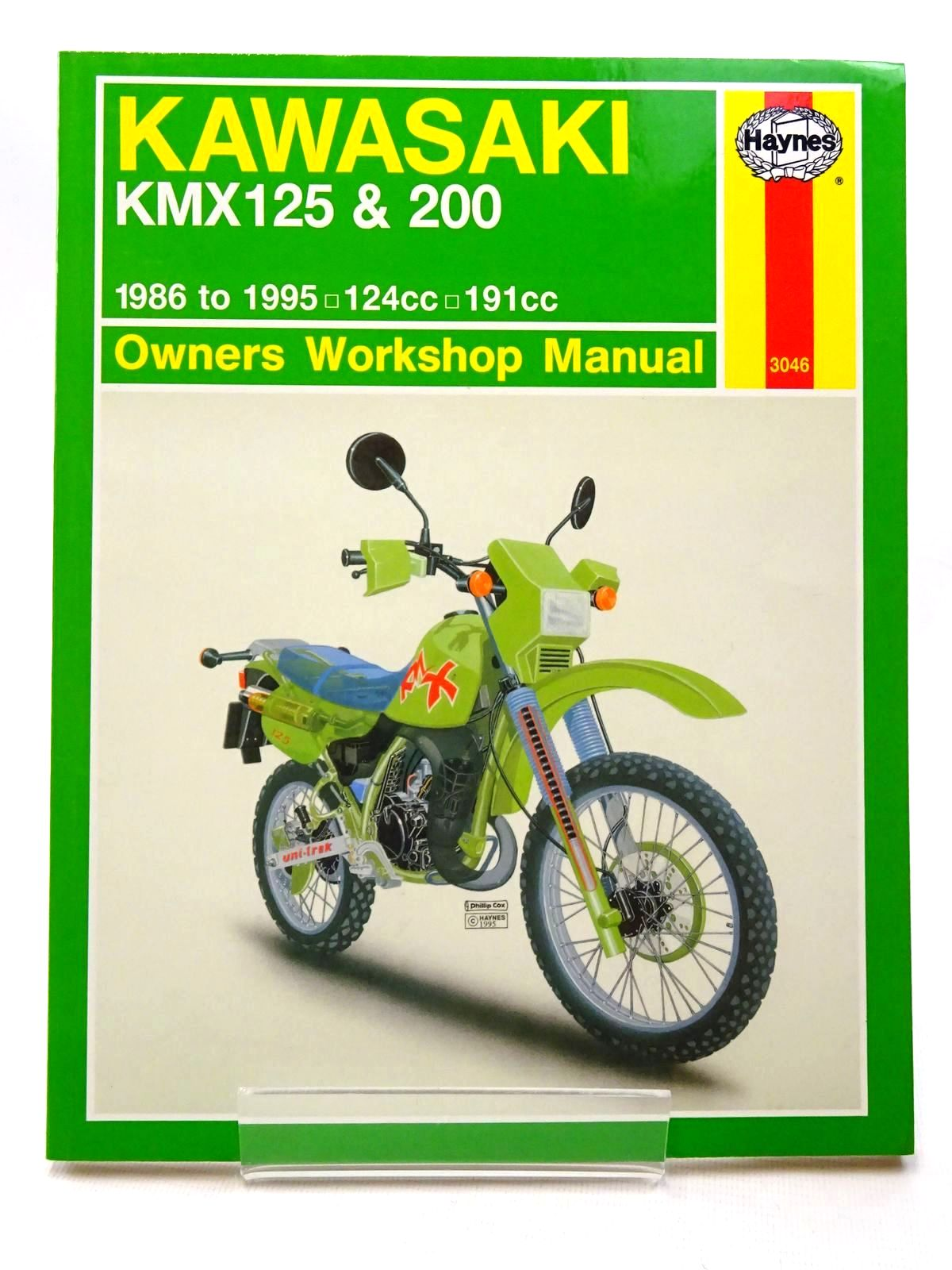 Photo of KAWASAKI KMX125 & 200 OWNERS WORKSHOP MANUAL written by Ryder, Julian published by Haynes Publishing (STOCK CODE: 2124138)  for sale by Stella & Rose's Books