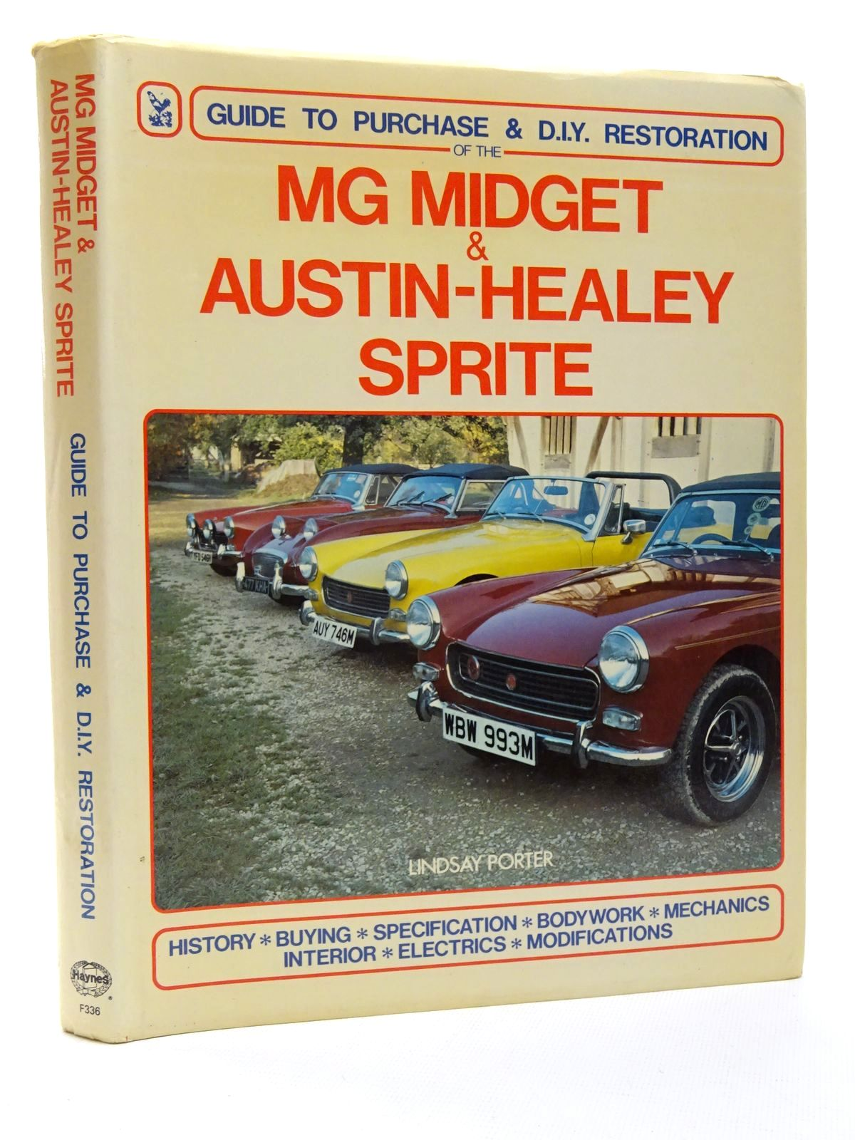 Photo of MG MIDGET & AUSTIN-HEALEY SPRITE written by Porter, Lindsay published by Foulis, Haynes (STOCK CODE: 2124141)  for sale by Stella & Rose's Books
