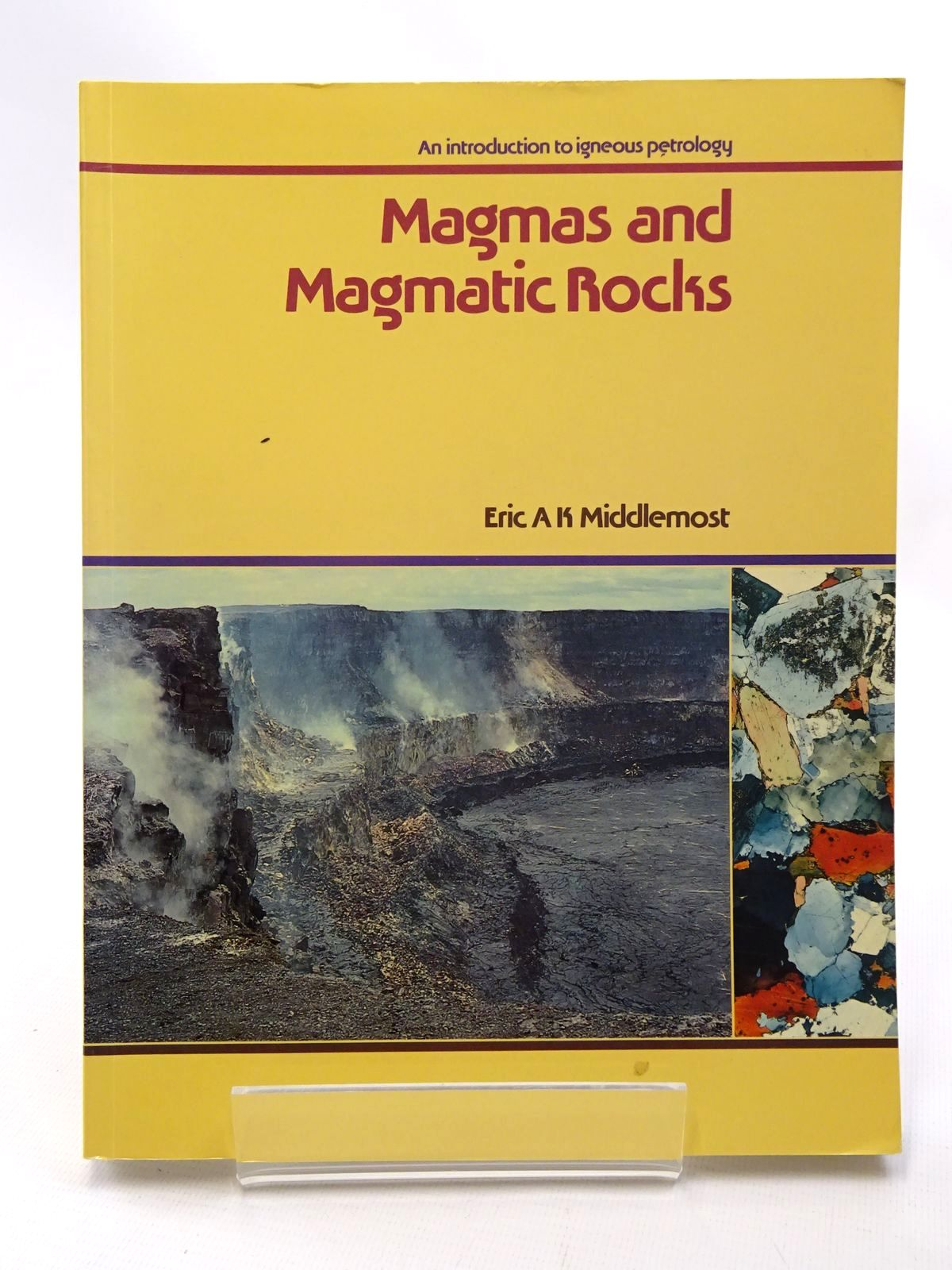 Photo of MAGMAS AND MAGMATIC ROCKS AN INTRODUCTION TO IGNEOUS PETROLOGY written by Middlemost, published by Longman Scientific & Technical (STOCK CODE: 2124191)  for sale by Stella & Rose's Books