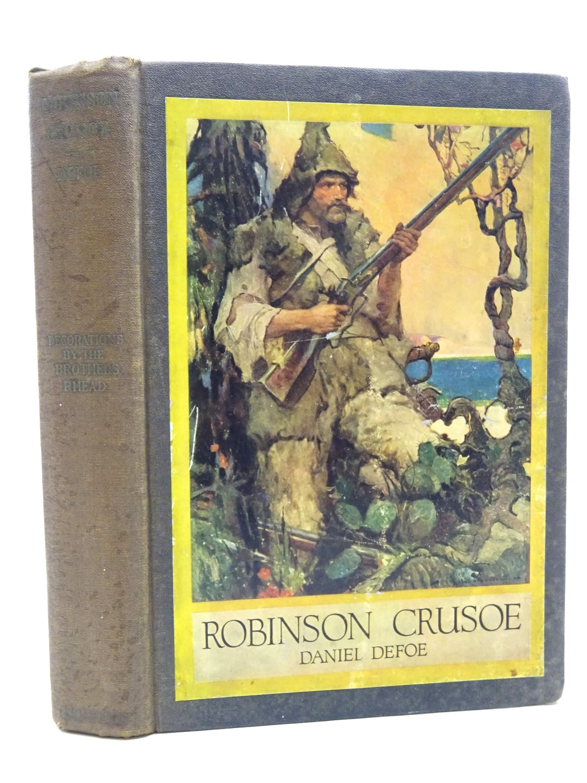 Photo of THE LIFE AND STRANGE SURPRISING ADVENTURES OF ROBINSON CRUSOE written by Defoe, Daniel illustrated by Rhead, Louis<br />Rhead, Frederick published by Harper And Brothers (STOCK CODE: 2124217)  for sale by Stella & Rose's Books