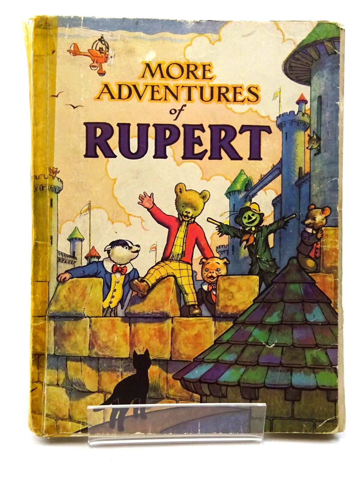 Photo of RUPERT ANNUAL 1942 - MORE ADVENTURES OF RUPERT written by Bestall, Alfred illustrated by Bestall, Alfred published by Daily Express (STOCK CODE: 2124269)  for sale by Stella & Rose's Books