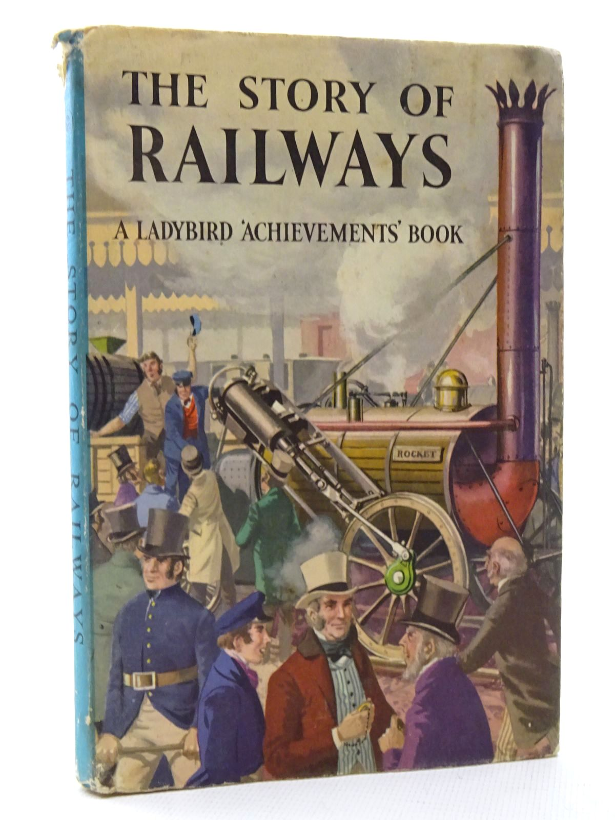 Photo of THE STORY OF RAILWAYS written by Bowood, Richard illustrated by Ayton, Robert published by Wills & Hepworth Ltd. (STOCK CODE: 2124335)  for sale by Stella & Rose's Books