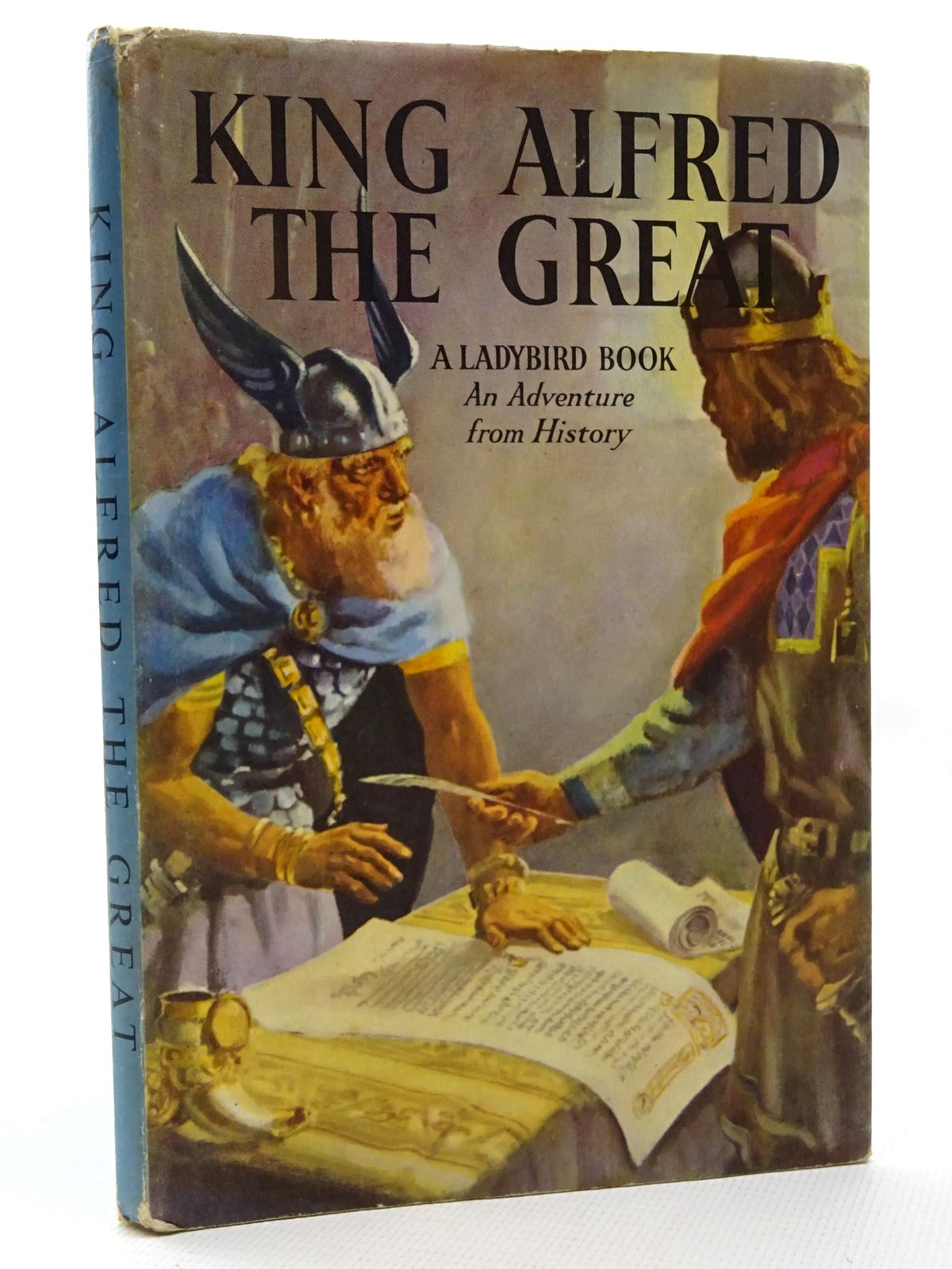 Photo of KING ALFRED THE GREAT written by Peach, L. Du Garde illustrated by Kenney, John published by Wills & Hepworth Ltd. (STOCK CODE: 2124342)  for sale by Stella & Rose's Books