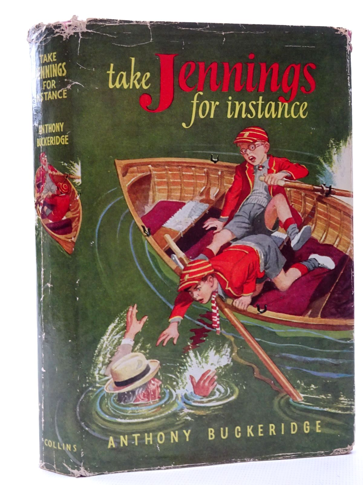 Photo of TAKE JENNINGS FOR INSTANCE written by Buckeridge, Anthony illustrated by Mays,  published by Collins (STOCK CODE: 2124355)  for sale by Stella & Rose's Books