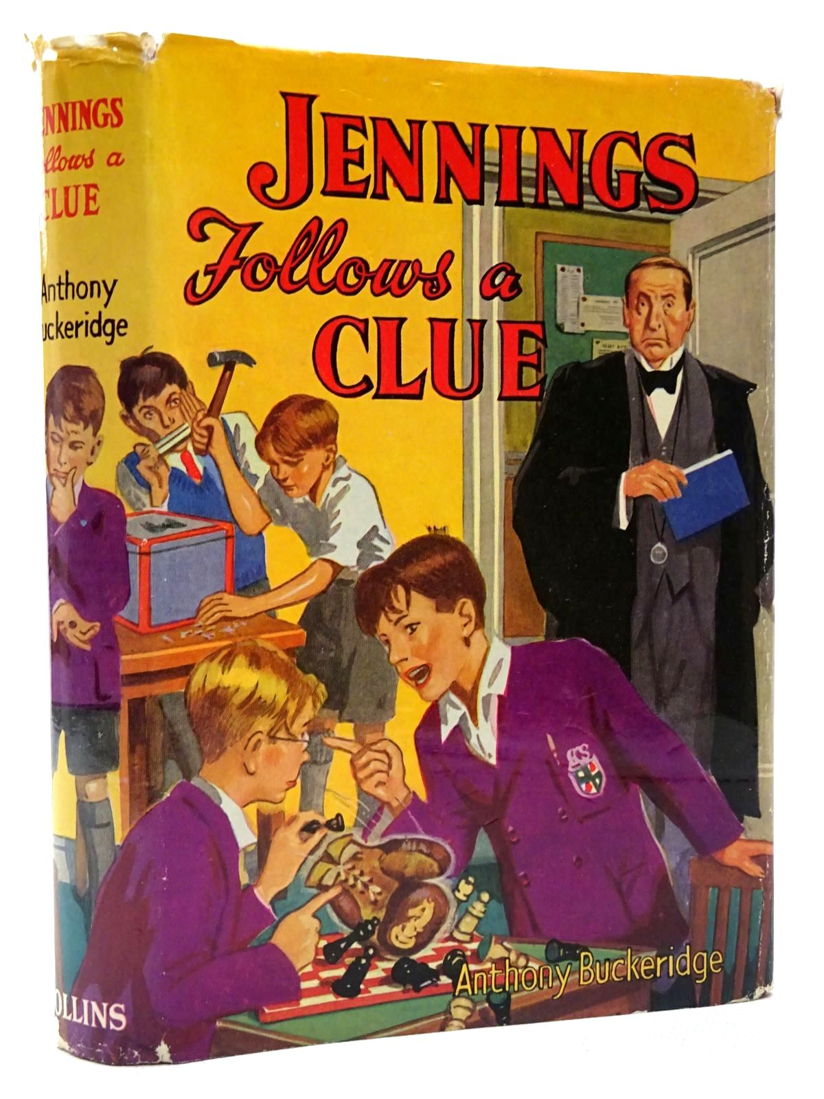 Photo of JENNINGS FOLLOWS A CLUE written by Buckeridge, Anthony published by Collins (STOCK CODE: 2124358)  for sale by Stella & Rose's Books