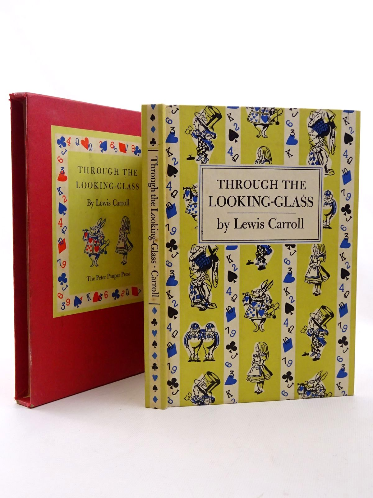 Photo of THROUGH THE LOOKING-GLASS AND WHAT ALICE FOUND THERE written by Carroll, Lewis illustrated by Tenniel, John published by Peter Pauper Press (STOCK CODE: 2124383)  for sale by Stella & Rose's Books