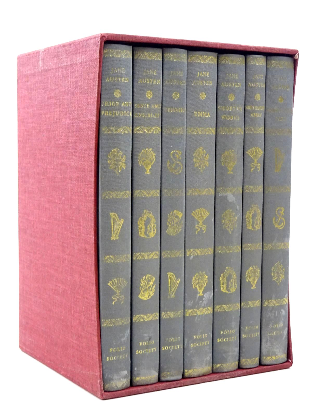 Photo of THE FOLIO JANE AUSTEN written by Austen, Jane illustrated by Hassall, Joan published by Folio Society (STOCK CODE: 2124393)  for sale by Stella & Rose's Books