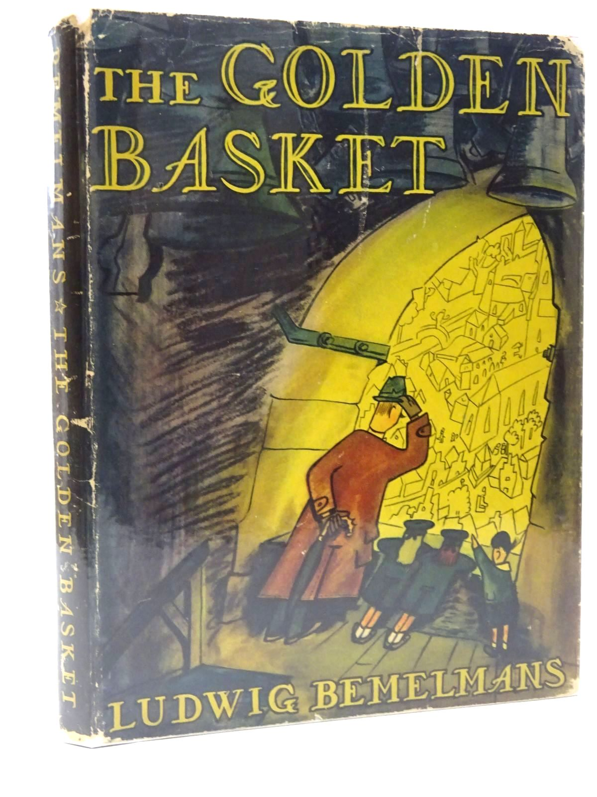 Photo of THE GOLDEN BASKET written by Bemelmans, Ludwig illustrated by Bemelmans, Ludwig published by Viking Press, NY (STOCK CODE: 2124397)  for sale by Stella & Rose's Books