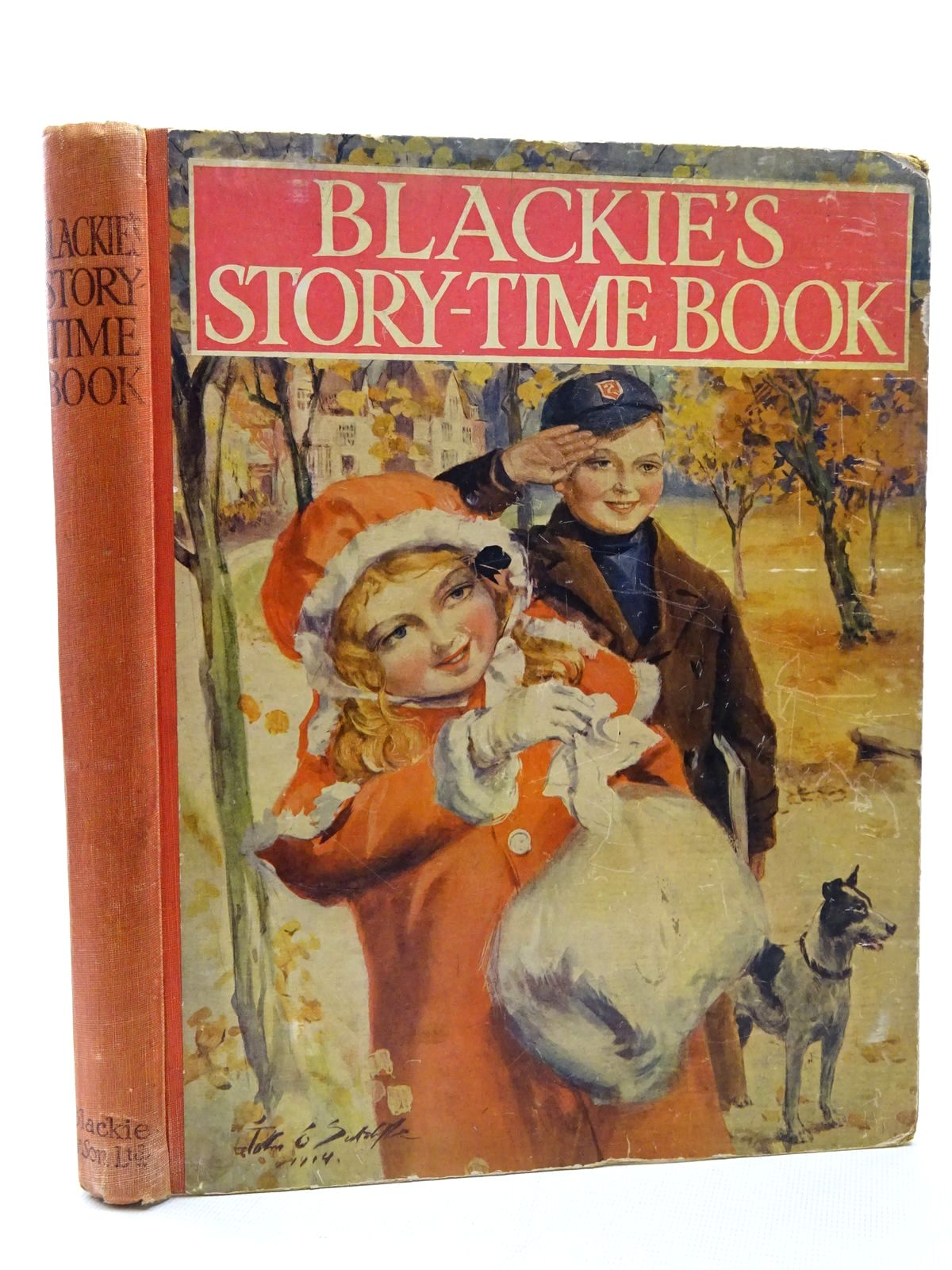 Photo of BLACKIE'S STORY-TIME BOOK written by Tent, Chris<br />Davidson, Gladys<br />Wilson, Theodora Wilson<br />Byron, May<br />Harrison, Florence<br />et al, illustrated by Richardson, Agnes<br />Maybank, Thomas<br />Earnshaw, Harold C.<br />Wain, Louis<br />Harrison, Florence<br />Buchanan, N.<br />Cowham, Hilda<br />Brock, H.M.<br />et al., published by Blackie & Son Ltd. (STOCK CODE: 2124405)  for sale by Stella & Rose's Books