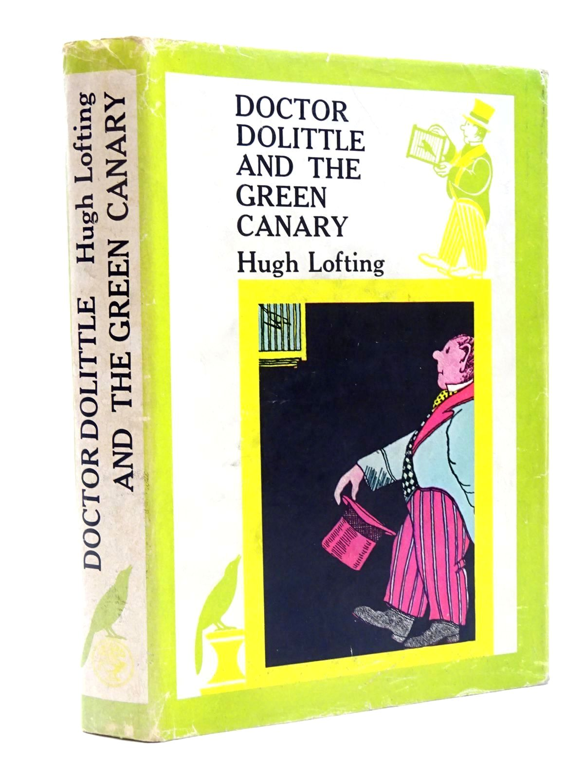 Photo of DOCTOR DOLITTLE AND THE GREEN CANARY written by Lofting, Hugh illustrated by Lofting, Hugh published by Jonathan Cape (STOCK CODE: 2124437)  for sale by Stella & Rose's Books