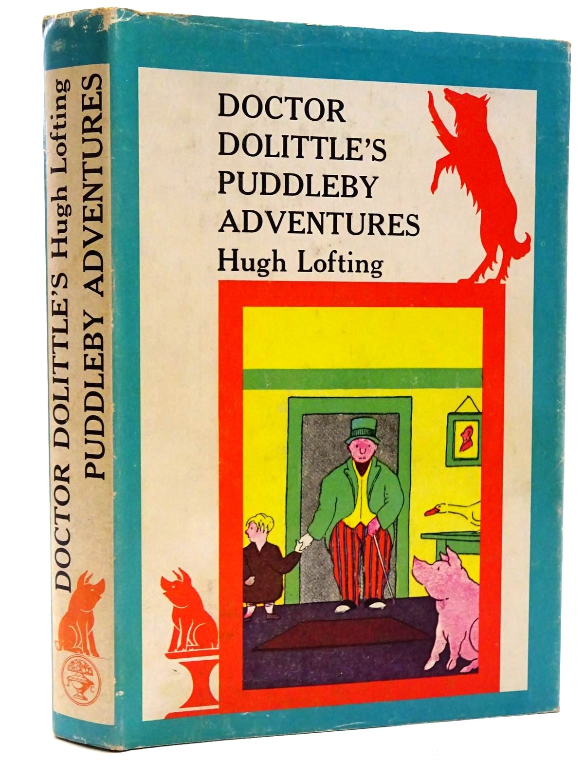 Photo of DOCTOR DOLITTLE'S PUDDLEBY ADVENTURES written by Lofting, Hugh illustrated by Lofting, Hugh published by Jonathan Cape (STOCK CODE: 2124441)  for sale by Stella & Rose's Books