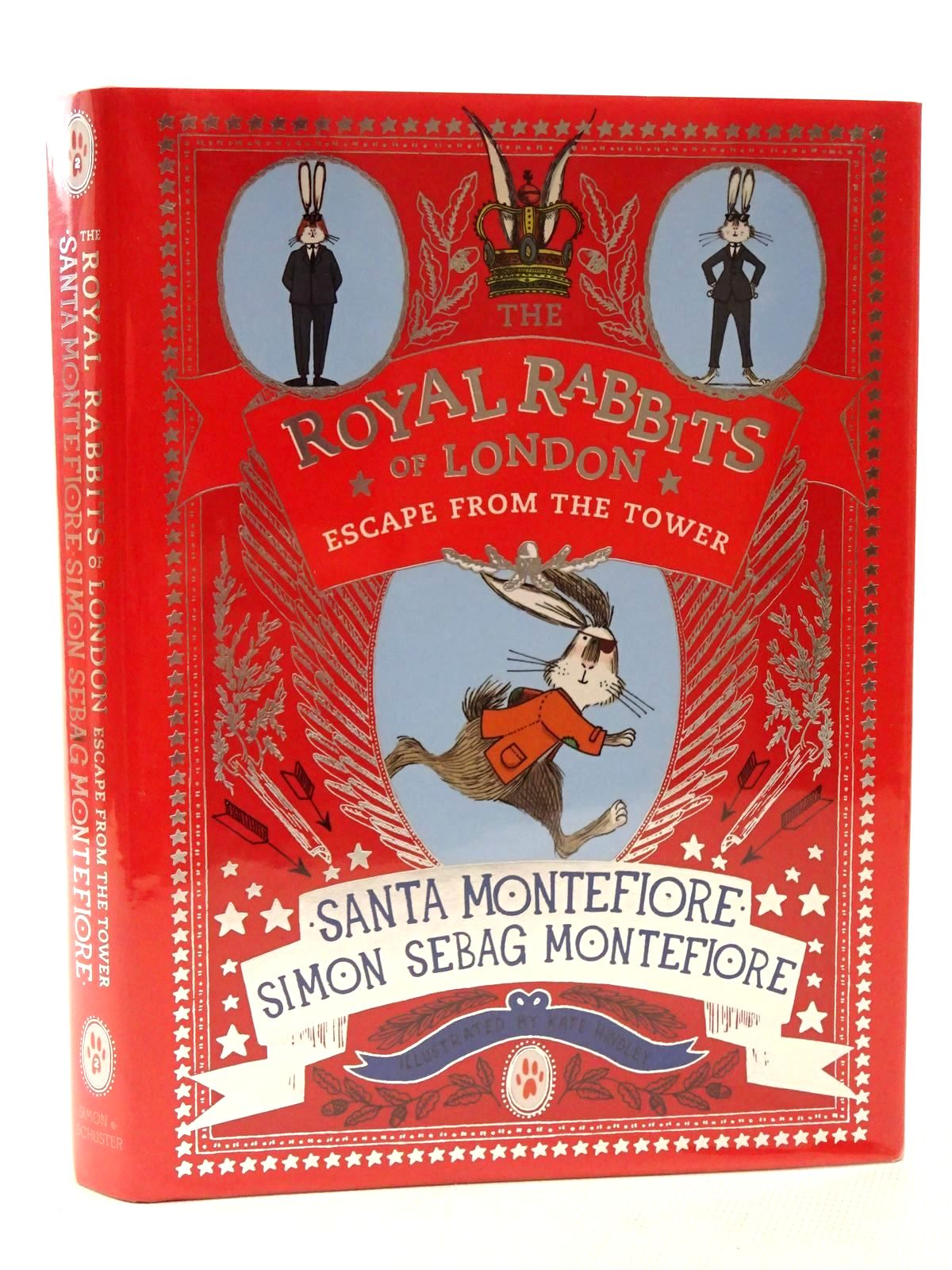 Photo of THE ROYAL RABBITS OF LONDON ESCAPE FROM THE TOWER written by Montefiore, Santa<br />Montefiore, Simon Sebag illustrated by Hindley, Kate published by Simon & Schuster (STOCK CODE: 2124458)  for sale by Stella & Rose's Books