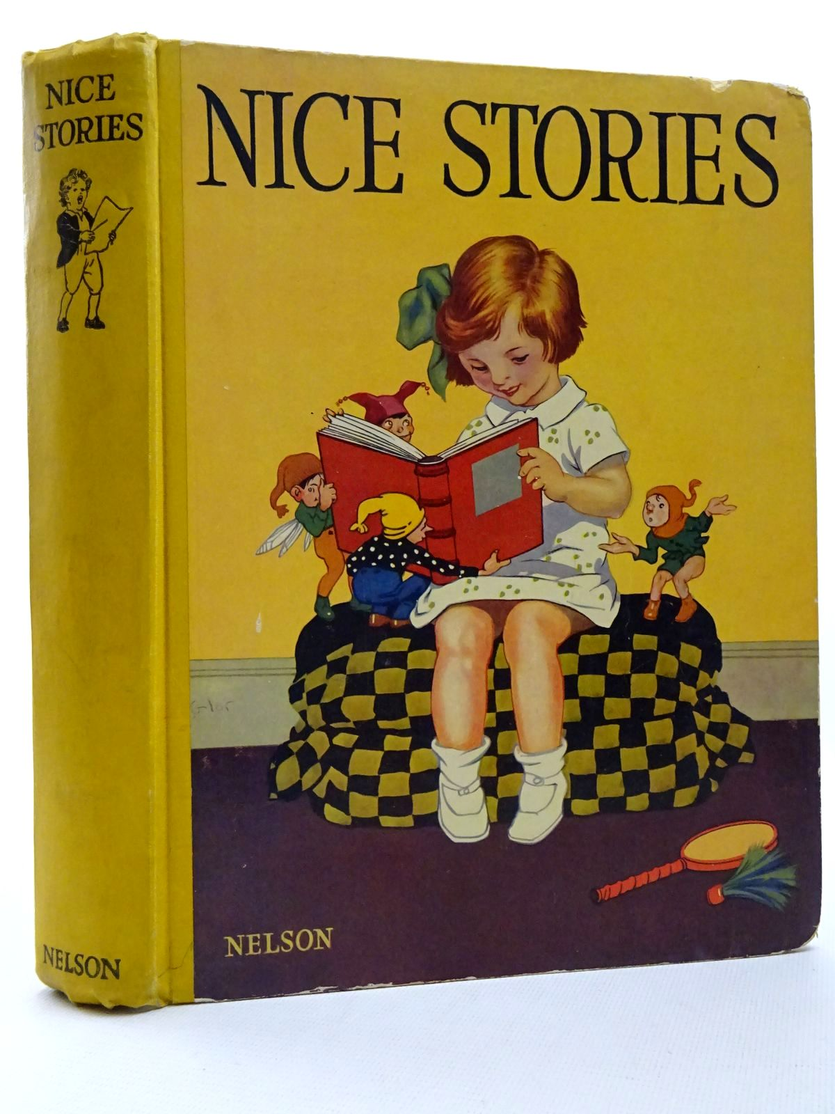 Photo of NICE STORIES written by Brazil, Angela<br />Sargent, Maud E.<br />et al, illustrated by Morrow, George published by Thomas Nelson and Sons Ltd. (STOCK CODE: 2124563)  for sale by Stella & Rose's Books
