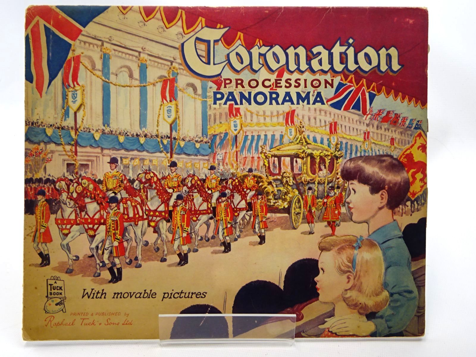 Photo of CORONATION PROCESSION PANORAMA published by Raphael Tuck & Sons Ltd. (STOCK CODE: 2124577)  for sale by Stella & Rose's Books