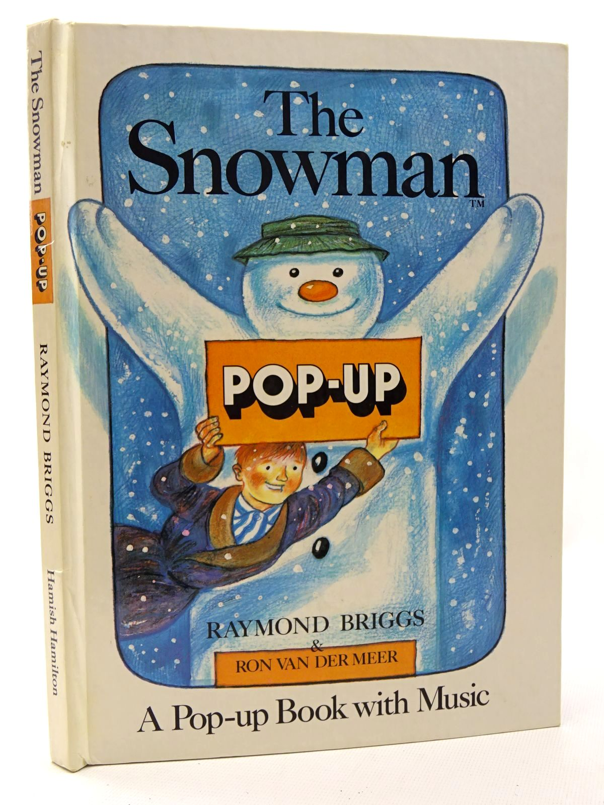 Photo of THE SNOWMAN POP-UP BOOK written by Briggs, Raymond illustrated by Briggs, Raymond published by Hamish Hamilton Childrens Books (STOCK CODE: 2124584)  for sale by Stella & Rose's Books