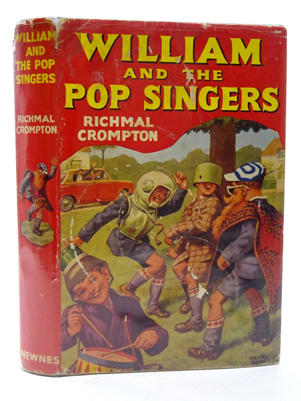 Photo of WILLIAM AND THE POP SINGERS written by Crompton, Richmal illustrated by Ford, Henry published by George Newnes Ltd. (STOCK CODE: 2124593)  for sale by Stella & Rose's Books