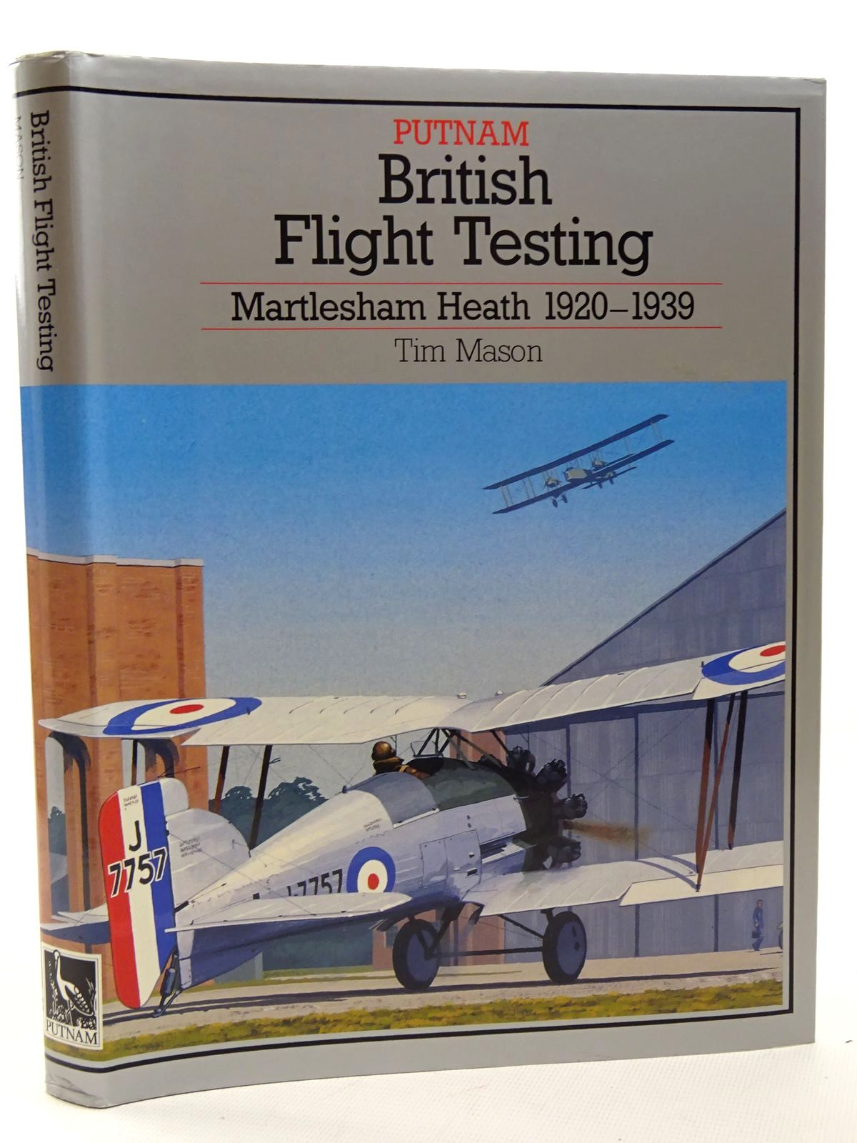 Photo of BRITISH FLIGHT TESTING: MARTLESHAM HEATH 1920-1939 written by Mason, T.<br />Heffernan, T. published by Putnam (STOCK CODE: 2124599)  for sale by Stella & Rose's Books