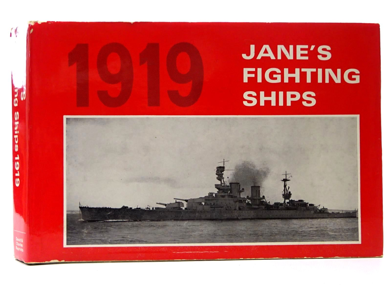 Photo of JANE'S FIGHTING SHIPS 1919 written by Jane, Fred T.<br />et al, published by David & Charles (STOCK CODE: 2124609)  for sale by Stella & Rose's Books