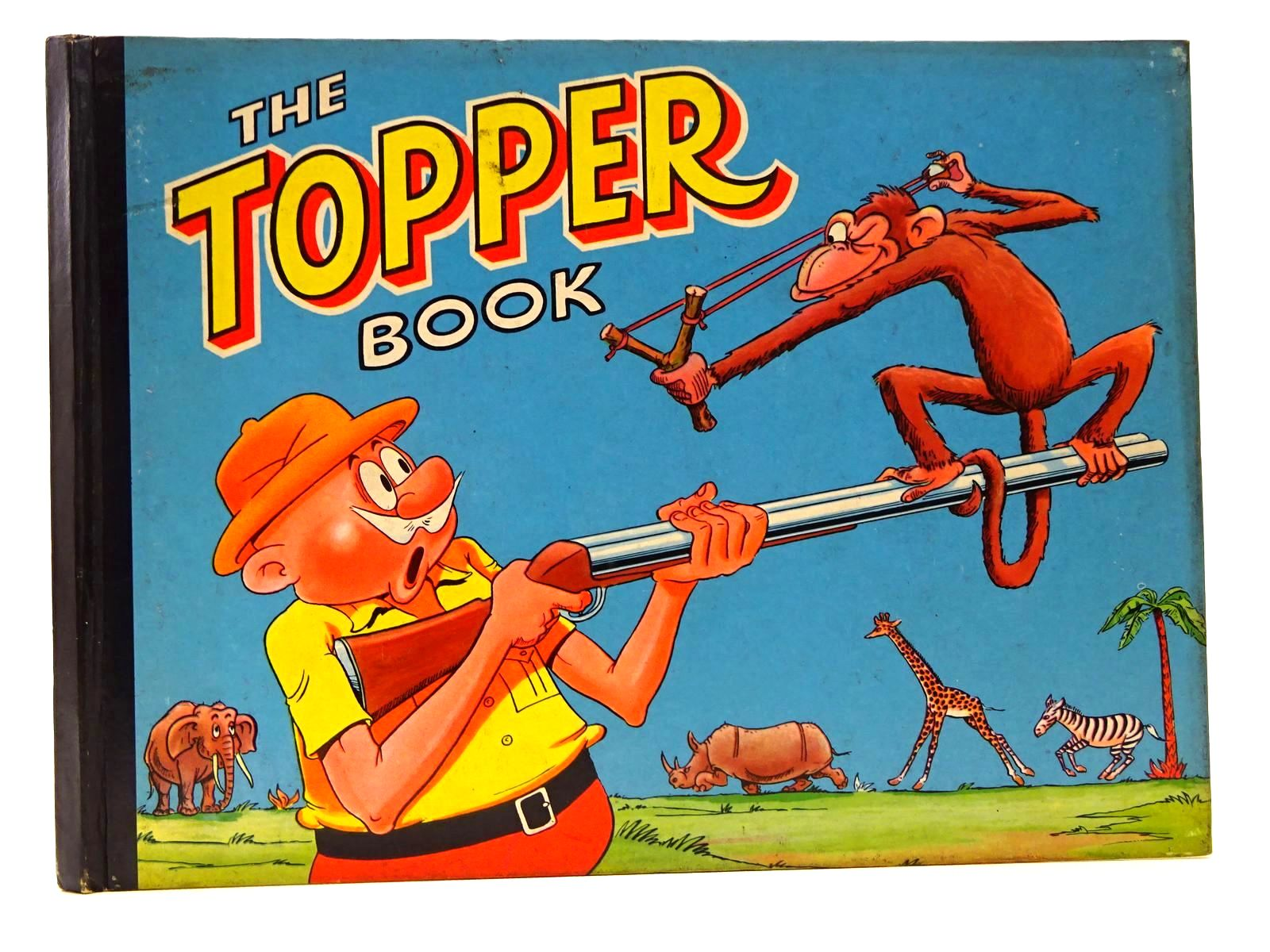 Photo of THE TOPPER BOOK 1959 published by D.C. Thomson & Co Ltd., John Leng (STOCK CODE: 2124635)  for sale by Stella & Rose's Books