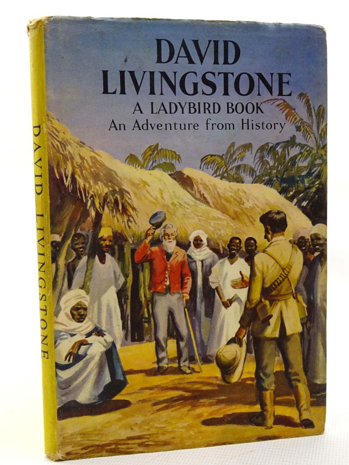 Photo of DAVID LIVINGSTONE written by Peach, L. Du Garde illustrated by Kenney, John published by Wills & Hepworth Ltd. (STOCK CODE: 2124648)  for sale by Stella & Rose's Books