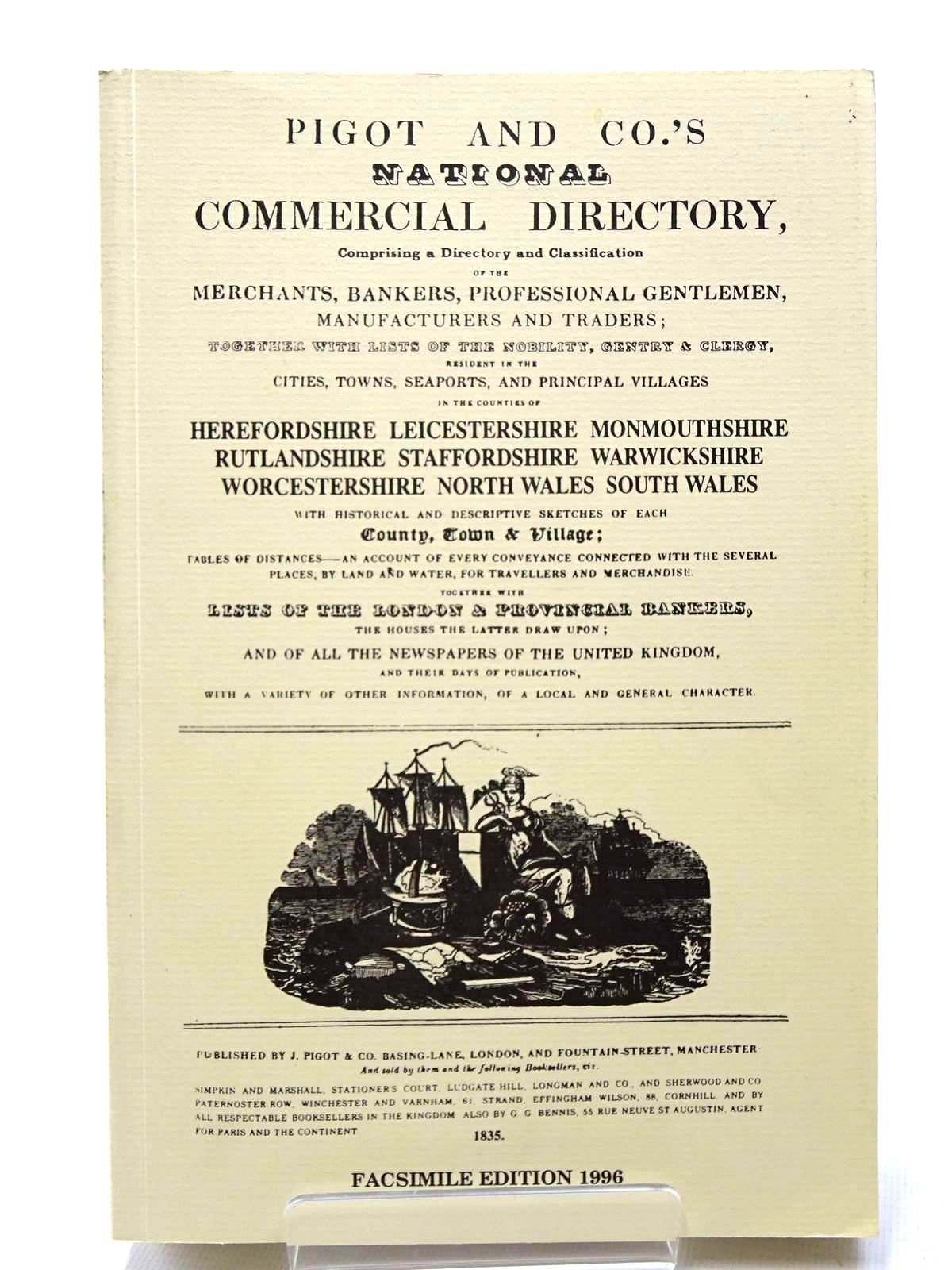 Photo of PIGOT & CO'S NATIONAL COMMERCIAL DIRECTORY 1835 published by Michael Winton (STOCK CODE: 2124673)  for sale by Stella & Rose's Books