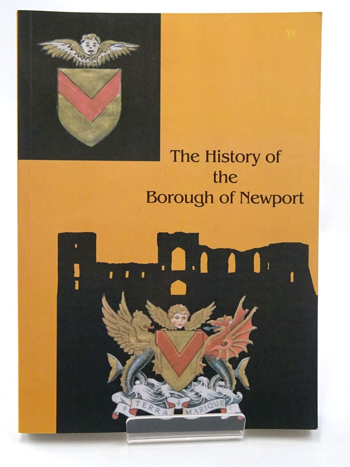 Photo of THE HISTORY OF THE BOROUGH OF NEWPORT written by Davis, Haydn published by Pennyfarthing Press (STOCK CODE: 2124684)  for sale by Stella & Rose's Books