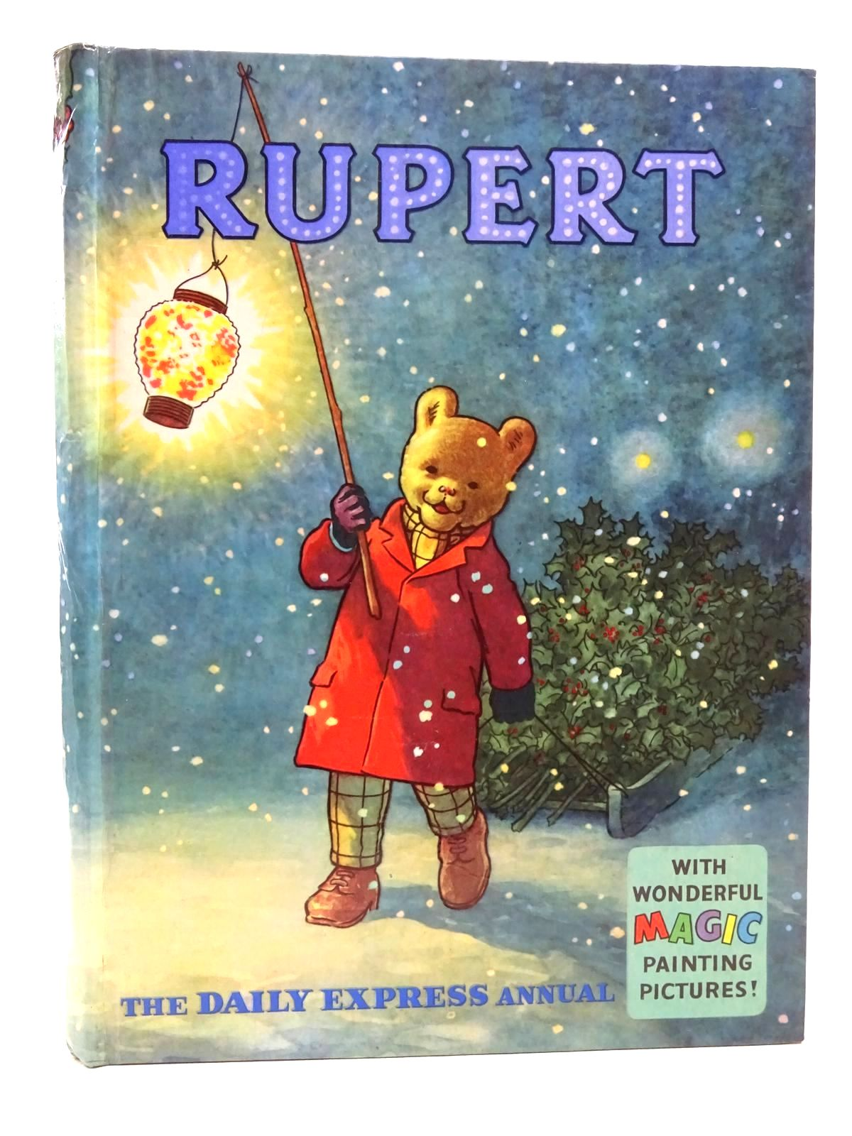 Photo of RUPERT ANNUAL 1960 written by Bestall, Alfred illustrated by Bestall, Alfred published by Daily Express (STOCK CODE: 2124730)  for sale by Stella & Rose's Books