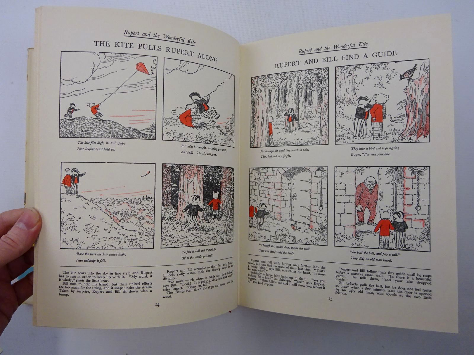 Photo of RUPERT ANNUAL 1936 (FACSIMILE) - THE NEW ADVENTURES OF RUPERT written by Bestall, Alfred illustrated by Bestall, Alfred published by Daily Express (STOCK CODE: 2124732)  for sale by Stella & Rose's Books