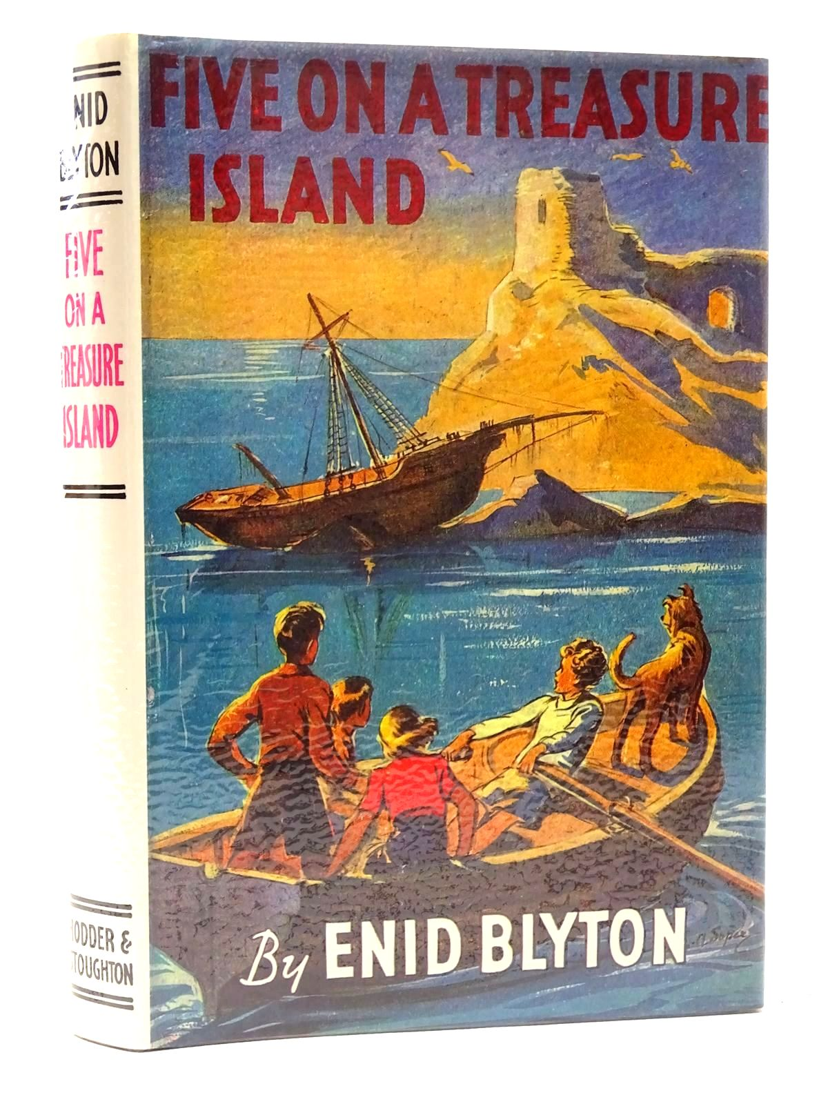 Photo of FIVE ON A TREASURE ISLAND written by Blyton, Enid illustrated by Soper, Eileen published by Hodder & Stoughton (STOCK CODE: 2124739)  for sale by Stella & Rose's Books