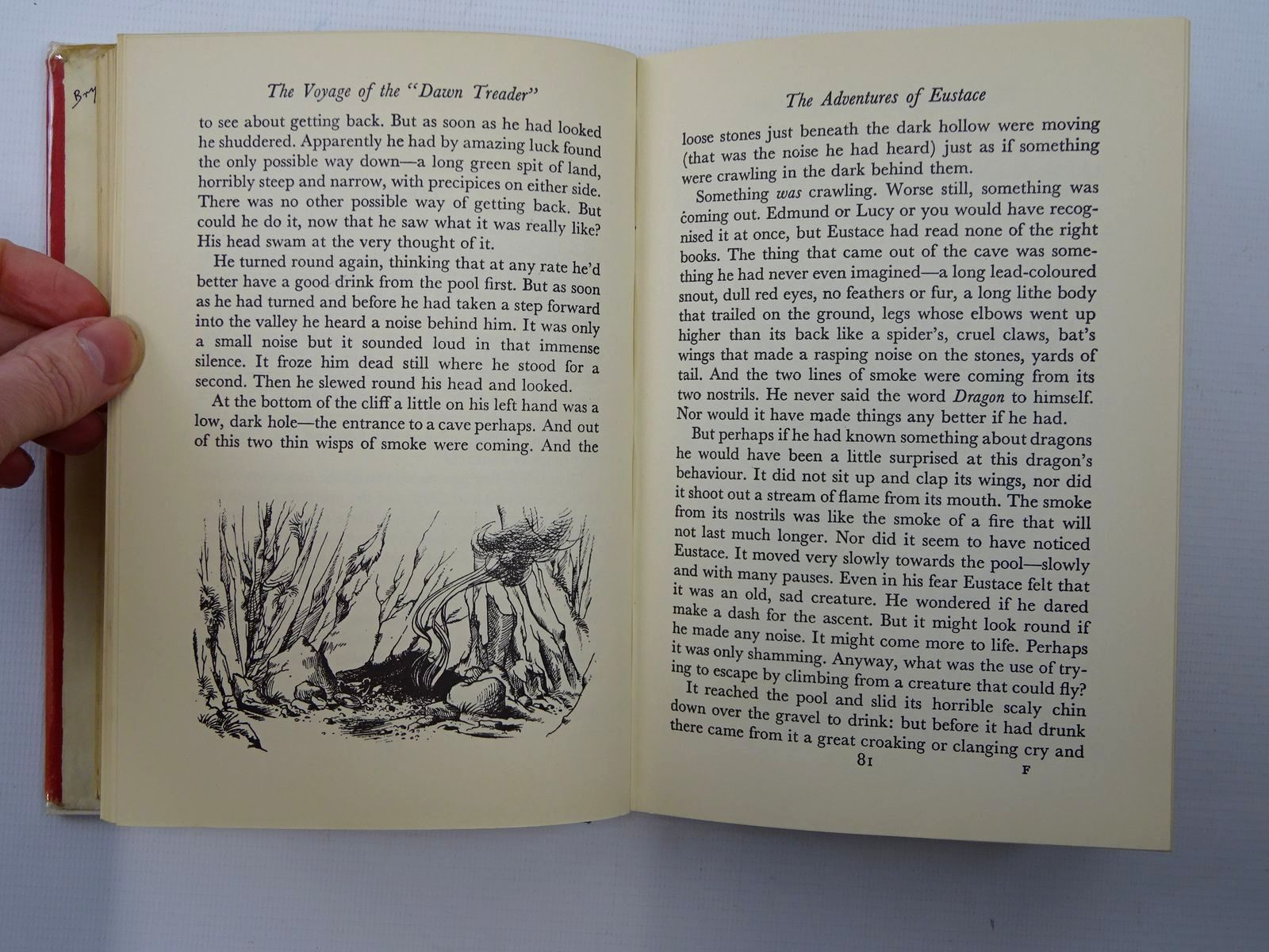 Photo of THE VOYAGE OF THE DAWN TREADER written by Lewis, C.S. illustrated by Baynes, Pauline published by Geoffrey Bles Ltd. (STOCK CODE: 2124740)  for sale by Stella & Rose's Books