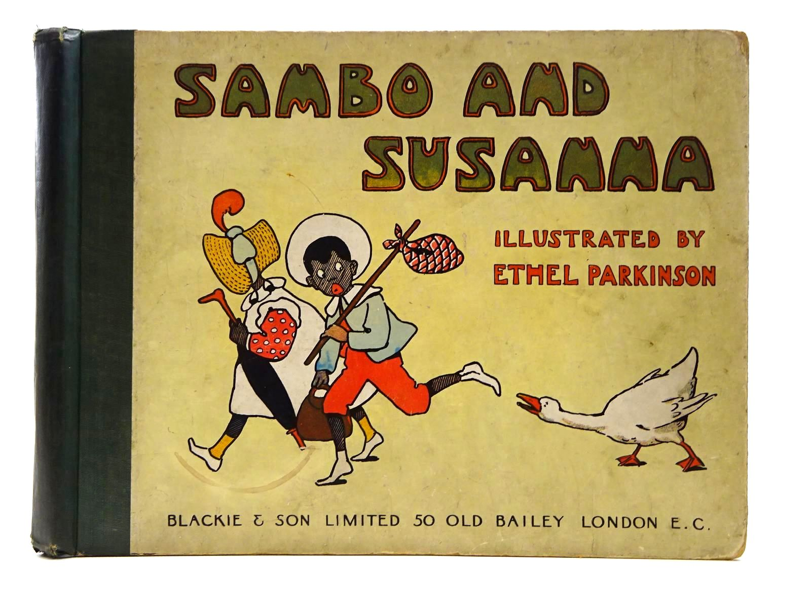 Photo of SAMBO AND SUSANNA written by Byron, May illustrated by Parkinson, Ethel published by Blackie & Son Ltd. (STOCK CODE: 2124750)  for sale by Stella & Rose's Books