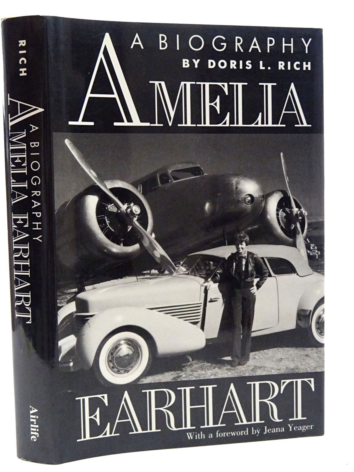 Photo of AMELIA EARHART A BIOGRAPHY written by Rich, Doris L. published by Airlife (STOCK CODE: 2124819)  for sale by Stella & Rose's Books