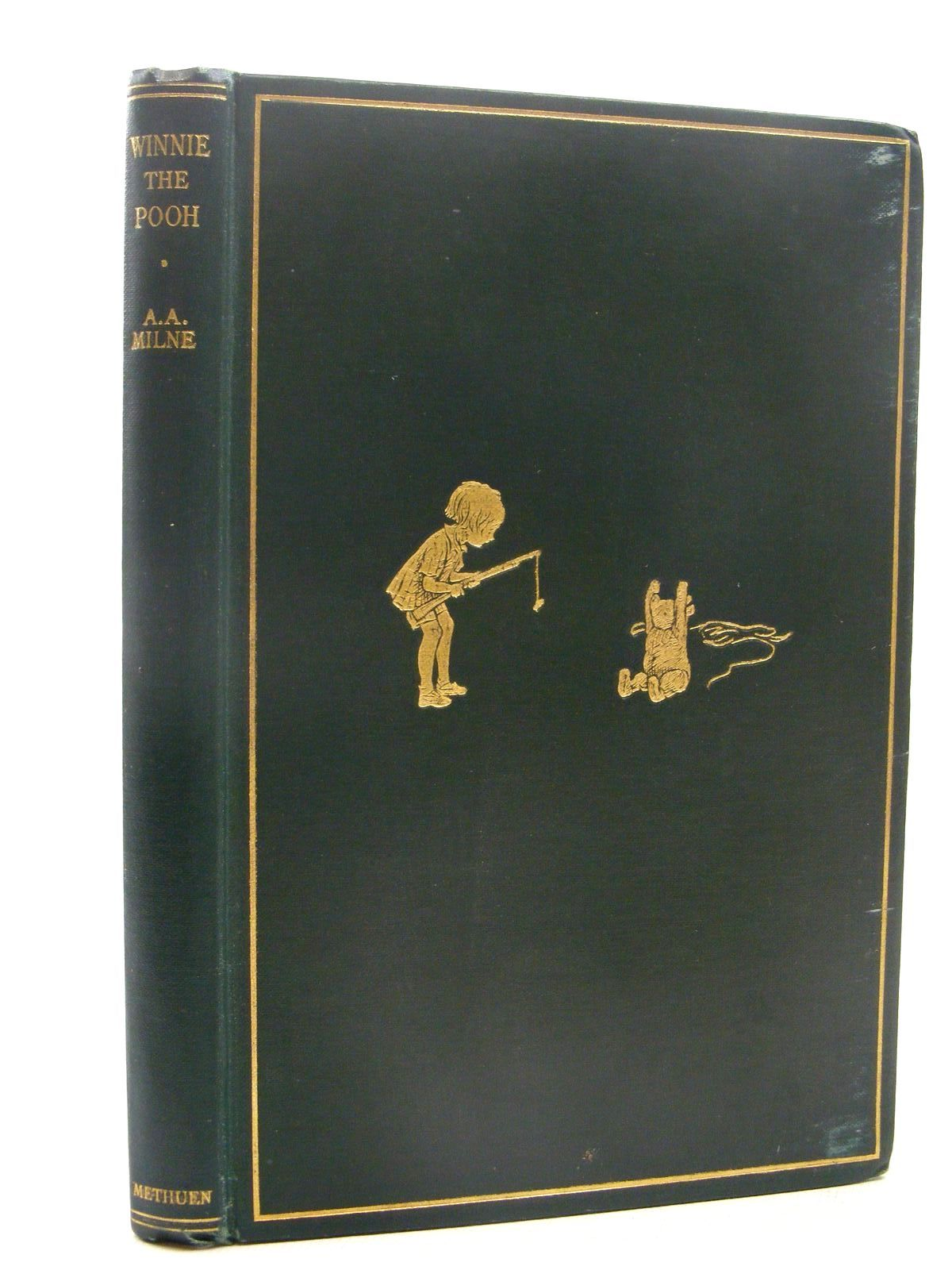 Photo of WINNIE-THE-POOH written by Milne, A.A. illustrated by Shepard, E.H. published by Methuen & Co. Ltd. (STOCK CODE: 2124837)  for sale by Stella & Rose's Books