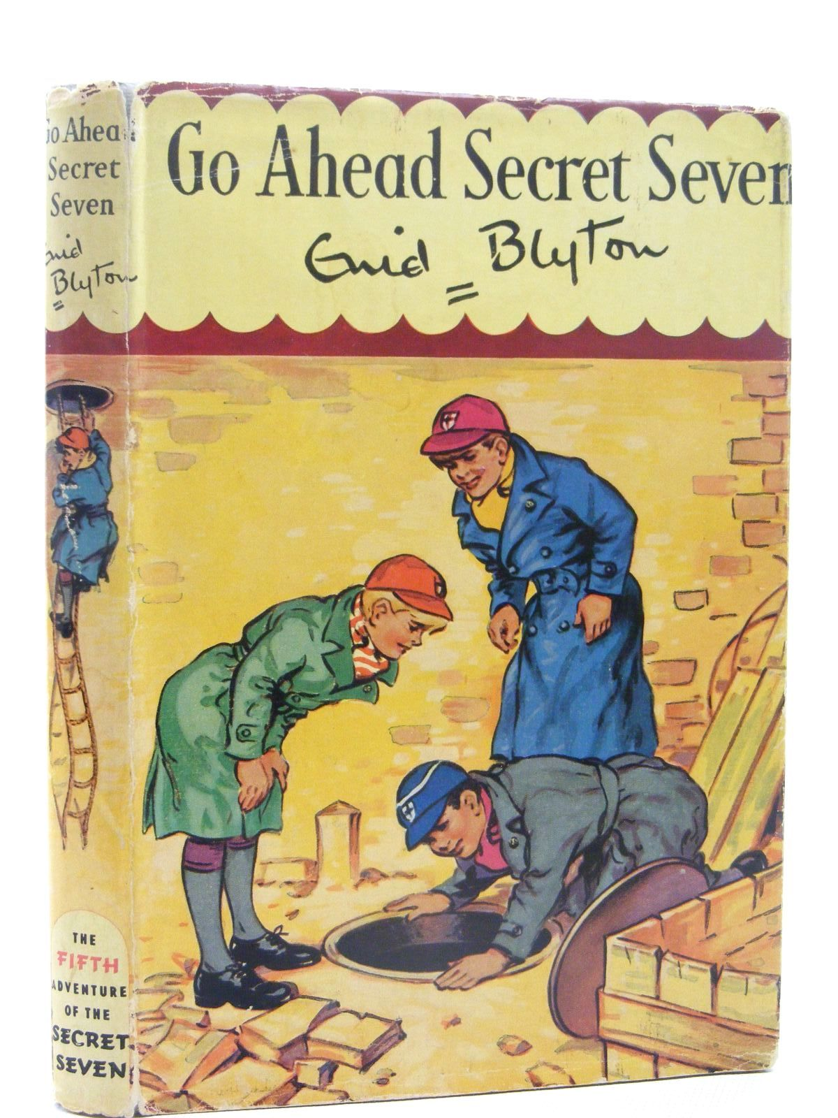 Photo of GO AHEAD SECRET SEVEN written by Blyton, Enid illustrated by Kay, Bruno published by Brockhampton Press (STOCK CODE: 2124855)  for sale by Stella & Rose's Books