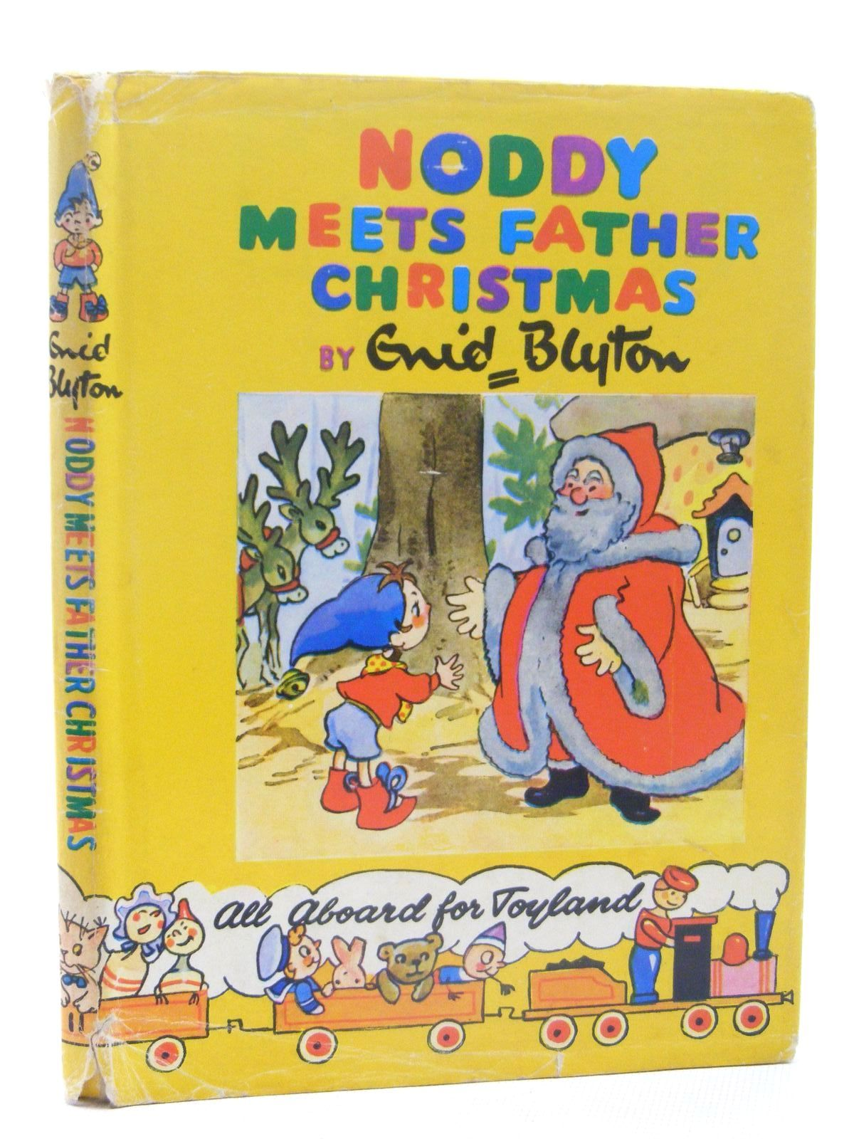 Photo of NODDY MEETS FATHER CHRISTMAS written by Blyton, Enid illustrated by Brooks, Mary published by Sampson Low, Marston & Co. Ltd., Dennis Dobson (STOCK CODE: 2124856)  for sale by Stella & Rose's Books