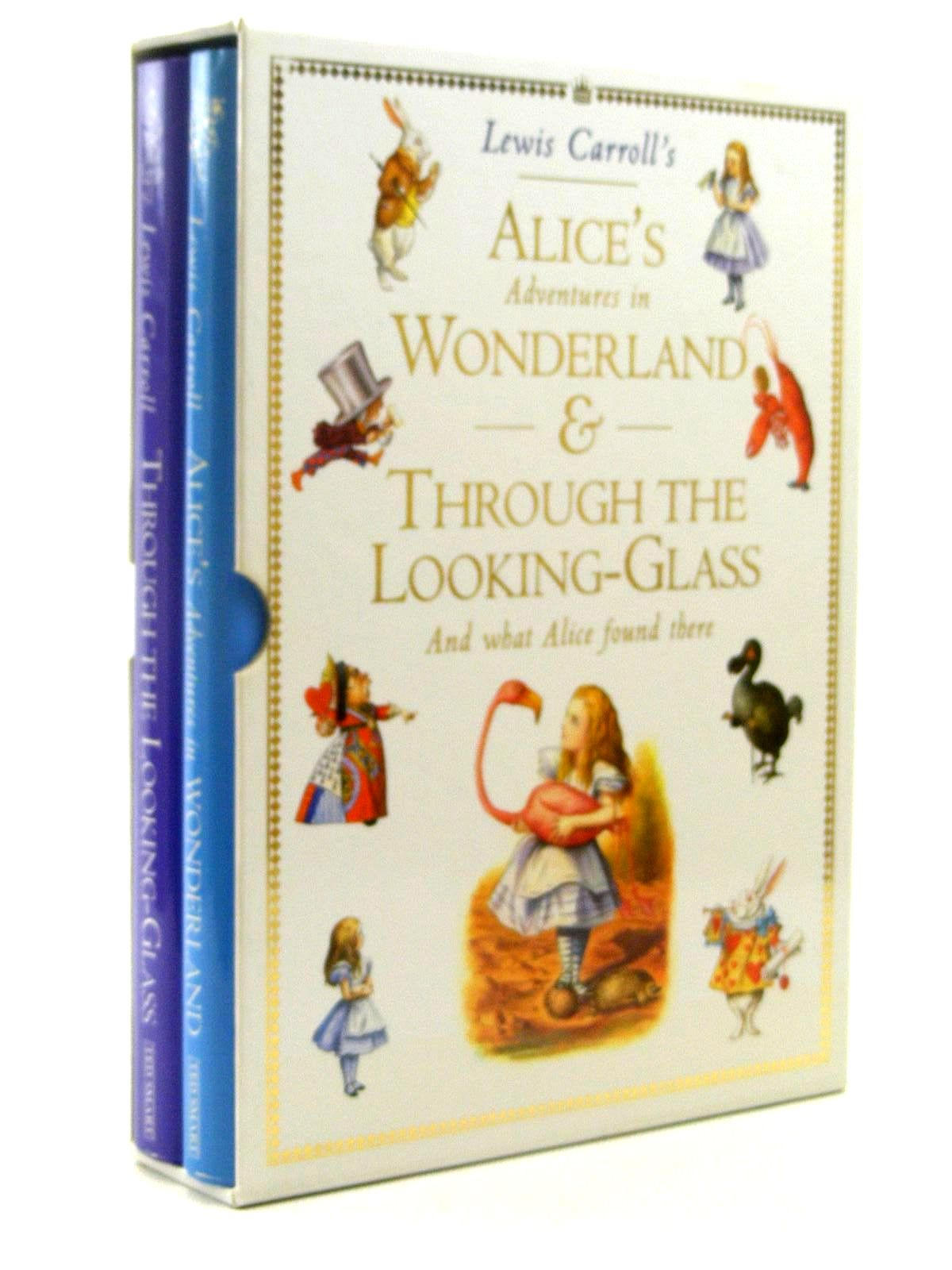 Photo of ALICE'S ADVENTURES IN WONDERLAND & THROUGH THE LOOKING-GLASS written by Carroll, Lewis illustrated by Tenniel, John published by Ted Smart (STOCK CODE: 2124890)  for sale by Stella & Rose's Books