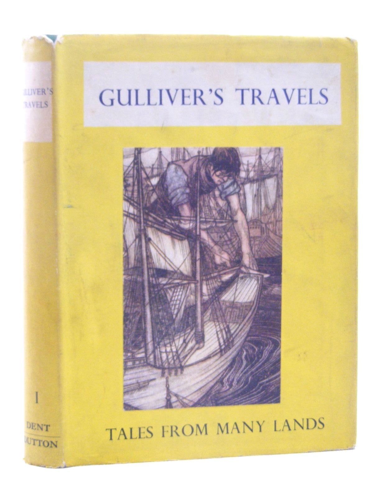 Photo of GULLIVER'S TRAVELS written by Swift, Jonathan illustrated by Rackham, Arthur published by J.M. Dent & Sons Ltd. (STOCK CODE: 2124903)  for sale by Stella & Rose's Books