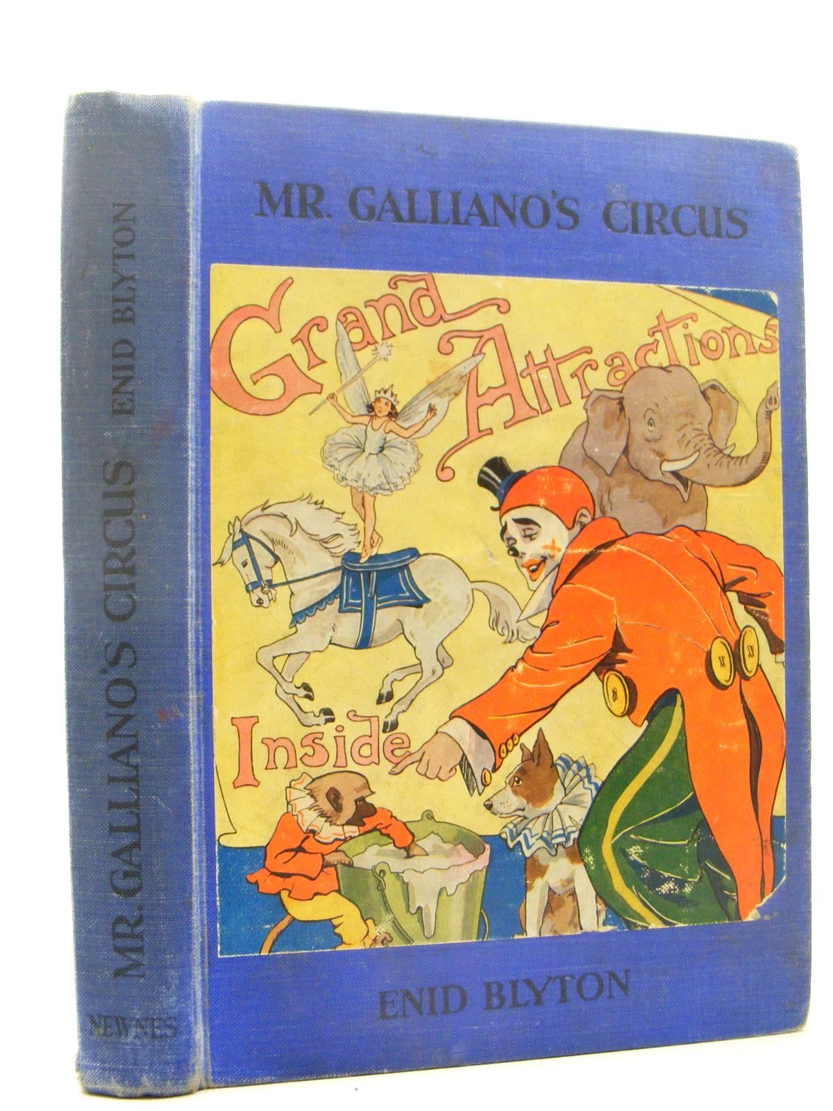 Photo of MR. GALLIANO'S CIRCUS written by Blyton, Enid illustrated by Davie, E.H. published by George Newnes Limited (STOCK CODE: 2124934)  for sale by Stella & Rose's Books