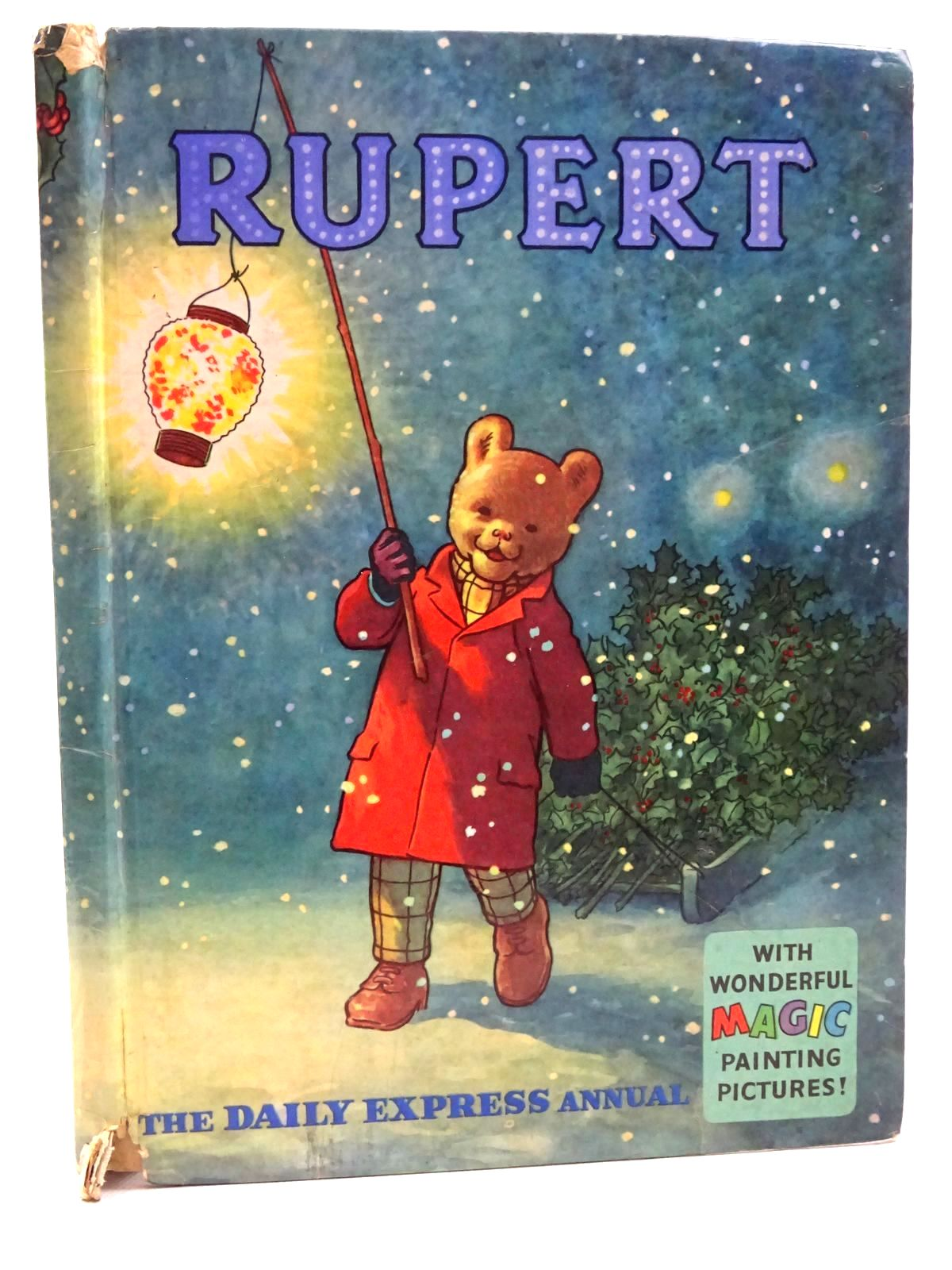 Photo of RUPERT ANNUAL 1960 written by Bestall, Alfred illustrated by Bestall, Alfred published by Daily Express (STOCK CODE: 2124945)  for sale by Stella & Rose's Books