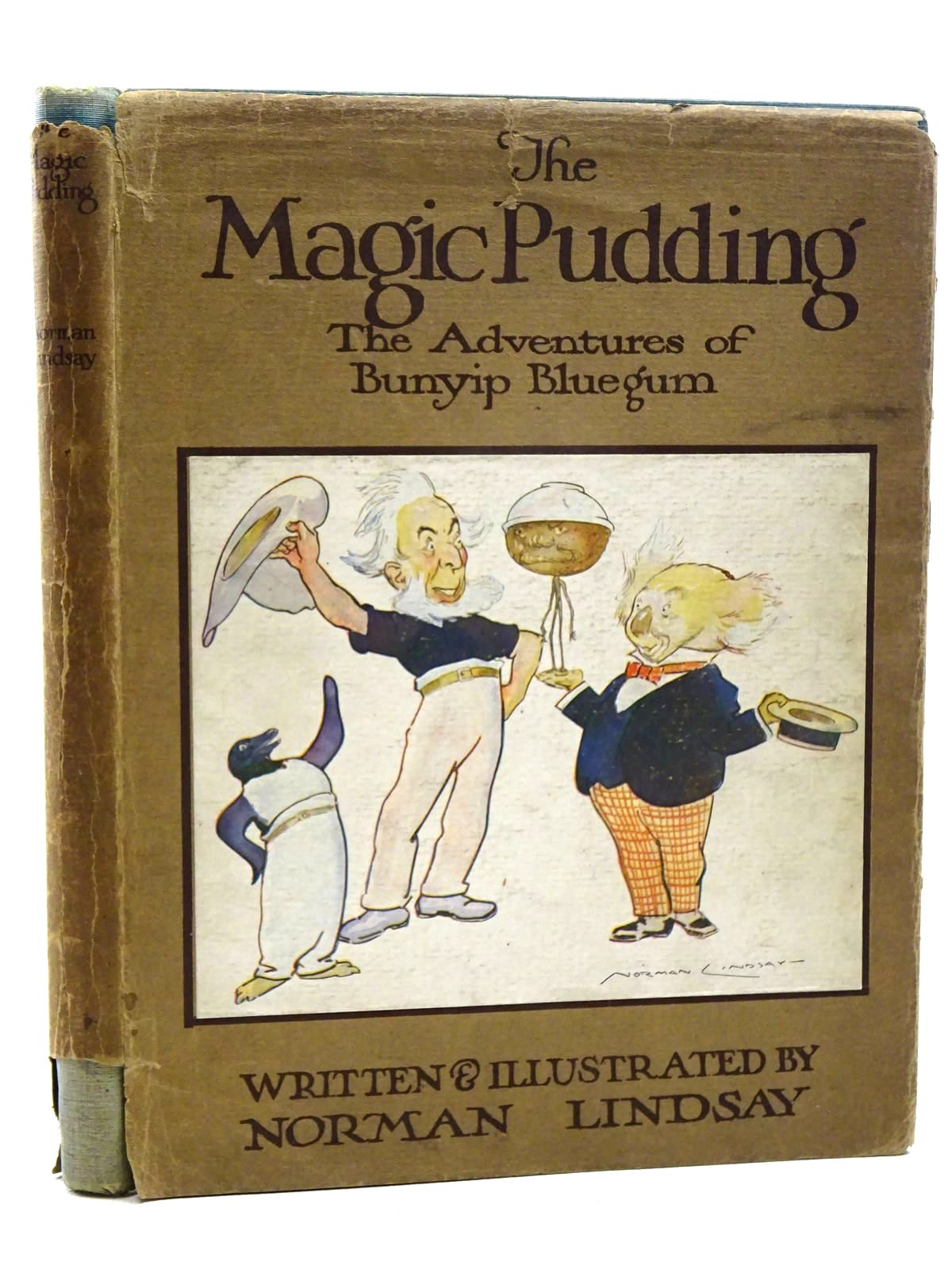 Photo of THE MAGIC PUDDING written by Lindsay, Norman illustrated by Lindsay, Norman published by Cornstalk Publishing Company (STOCK CODE: 2124946)  for sale by Stella & Rose's Books